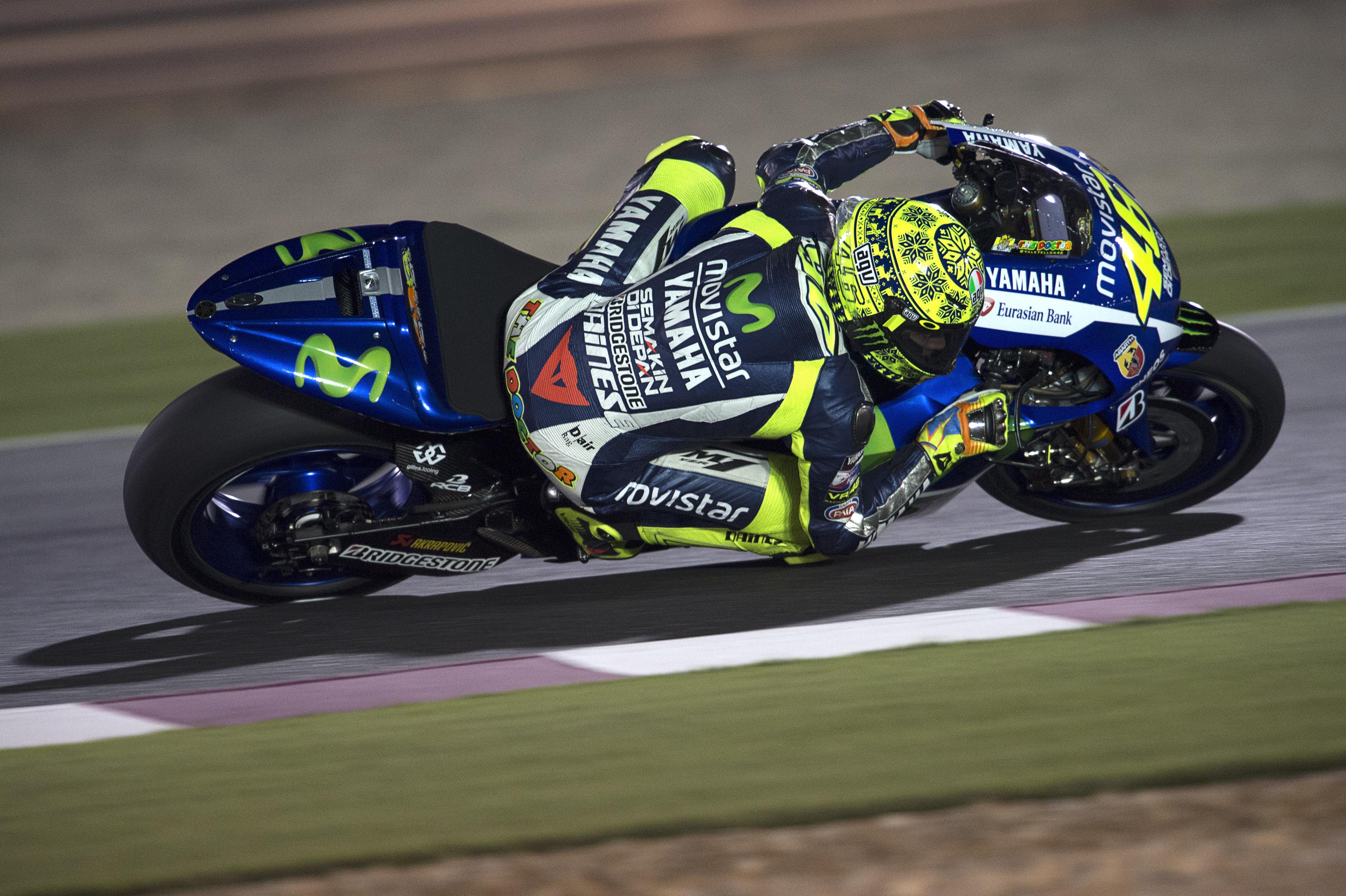 Qatar MotoGP test times - day one