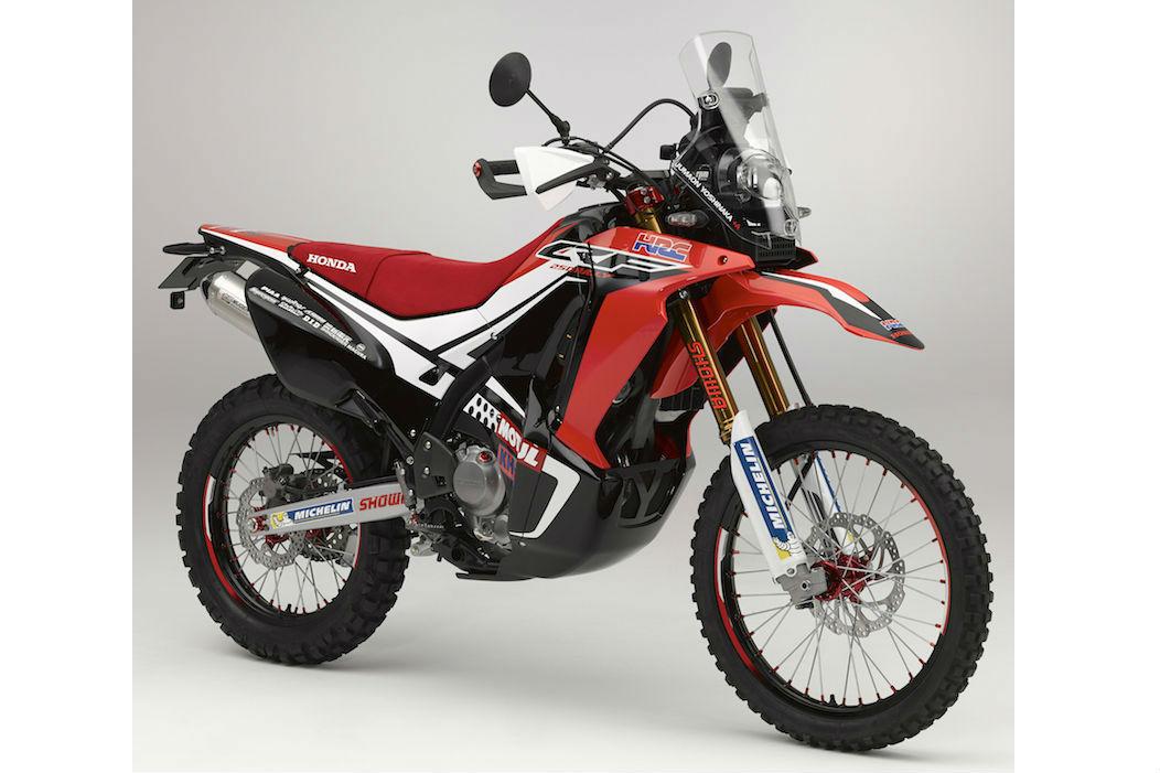 Honda CRF250 Rally revealed