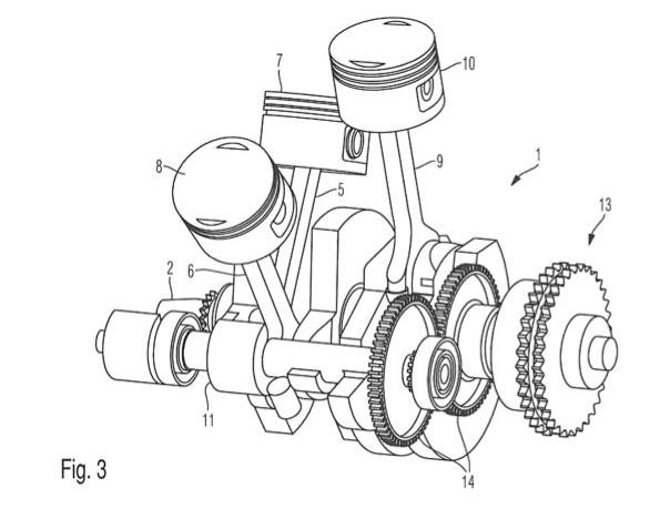 Ducati Engine Sketch Transparent