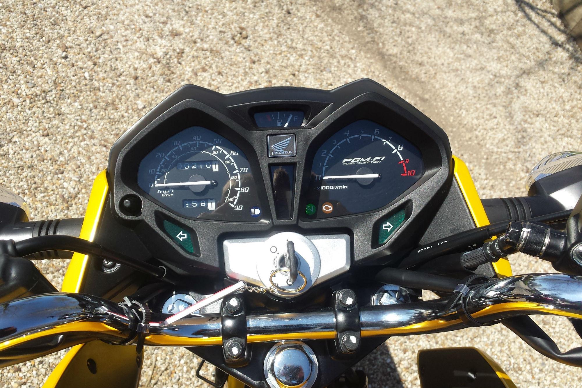 First ride: Honda CB125F review   Visordown