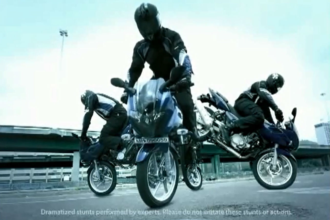 Top 10 TV motorcycle ads