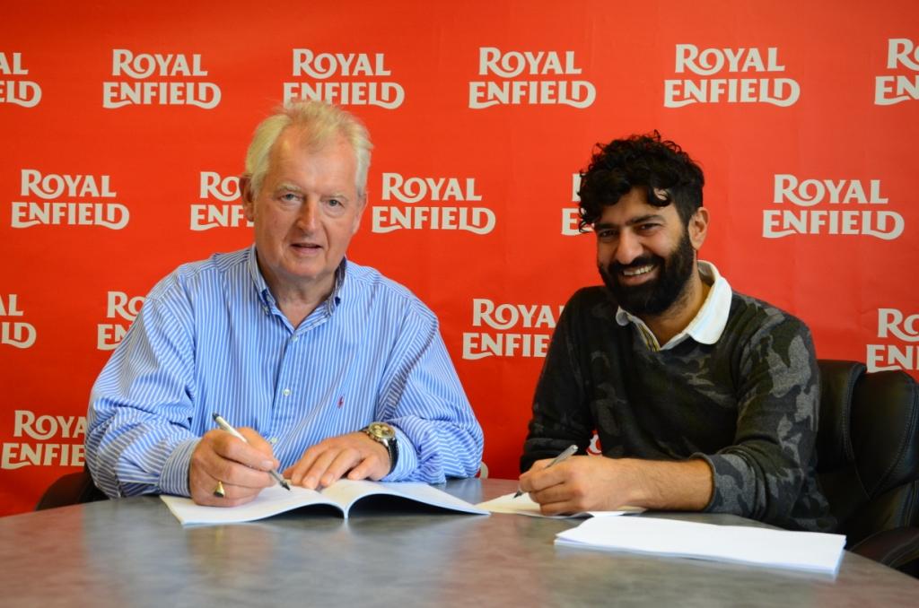 Royal Enfield buys Harris Performance