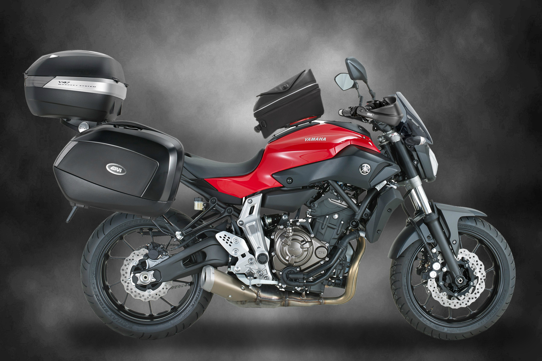 Mt 07 Gets The Touring Treatment By Givi Visordown