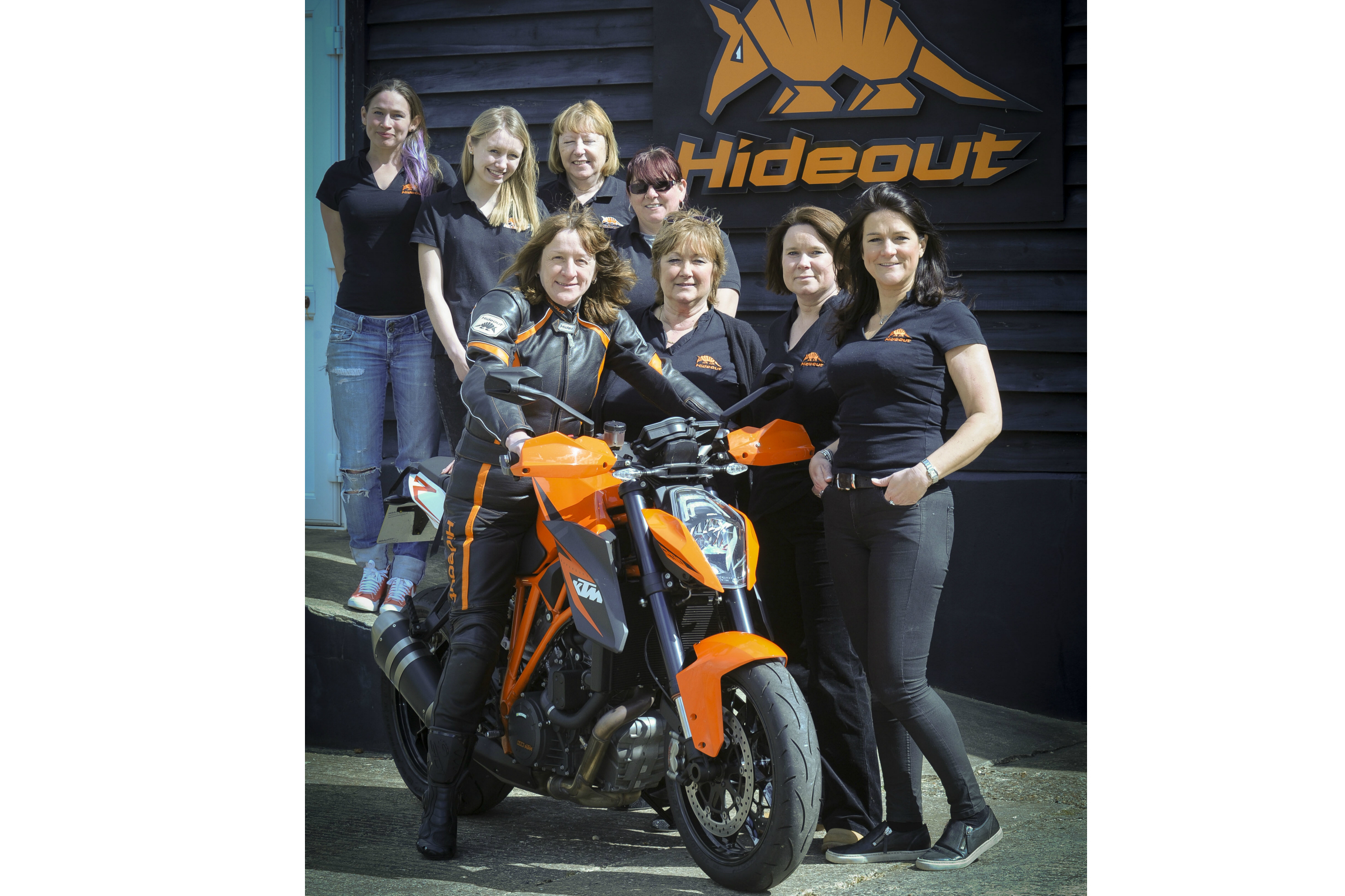 Hideout leather girls in Mission Impossible