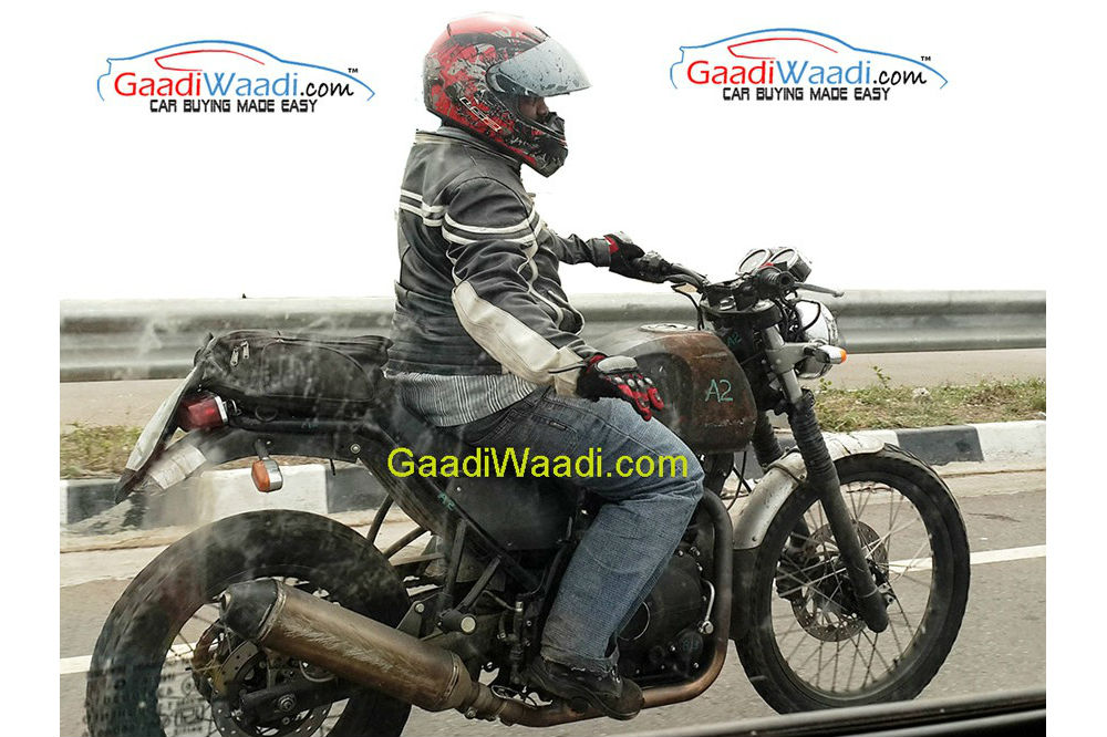 Royal Enfield Himalayan spotted again