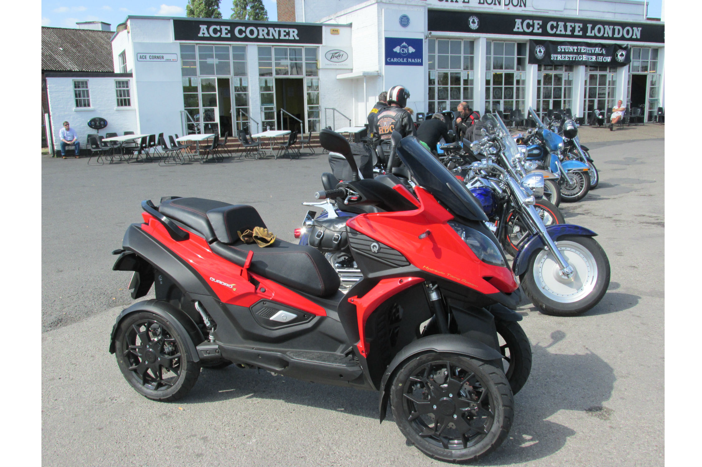 First ride: Quadro4 review