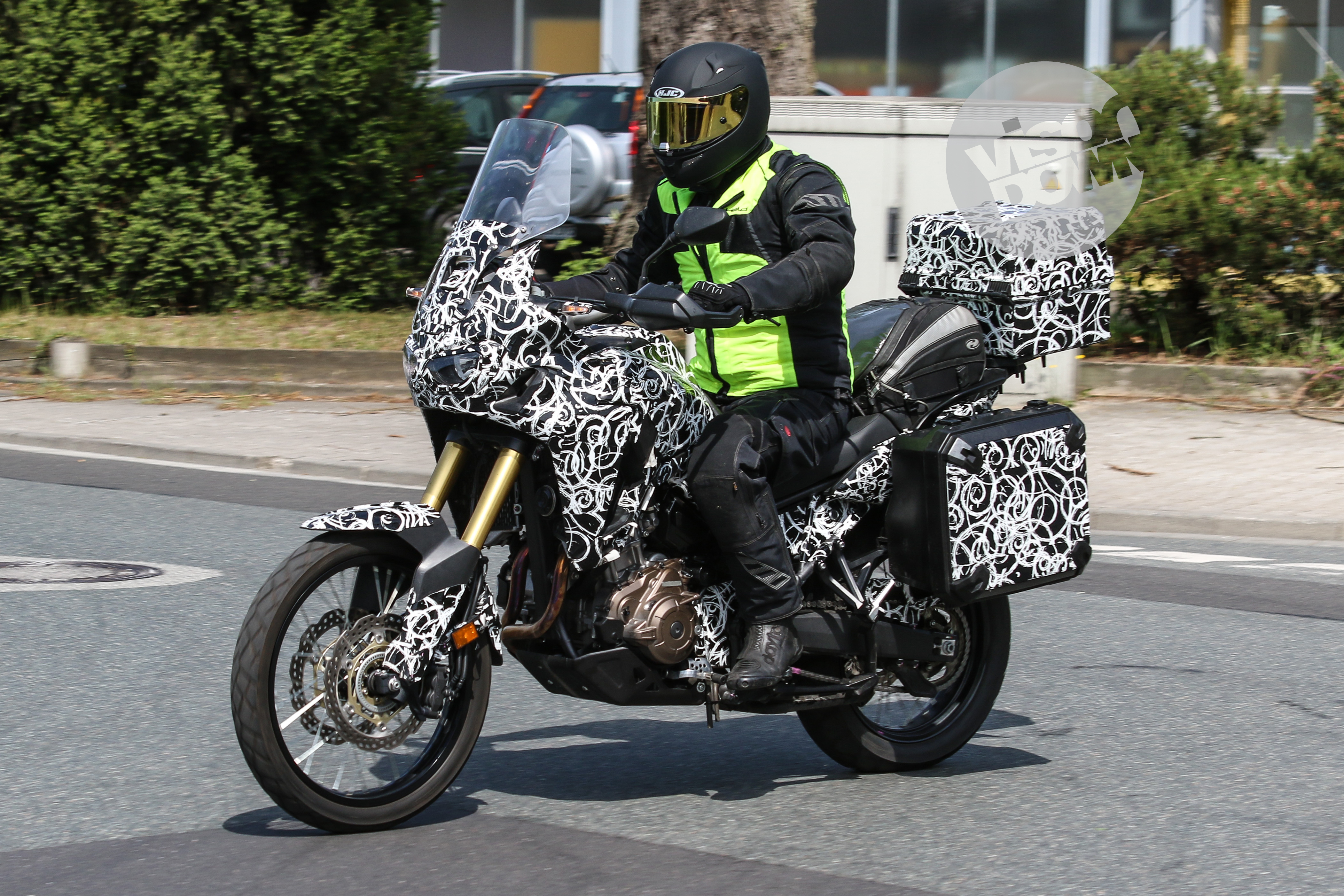 Touring-spec Africa Twin spotted