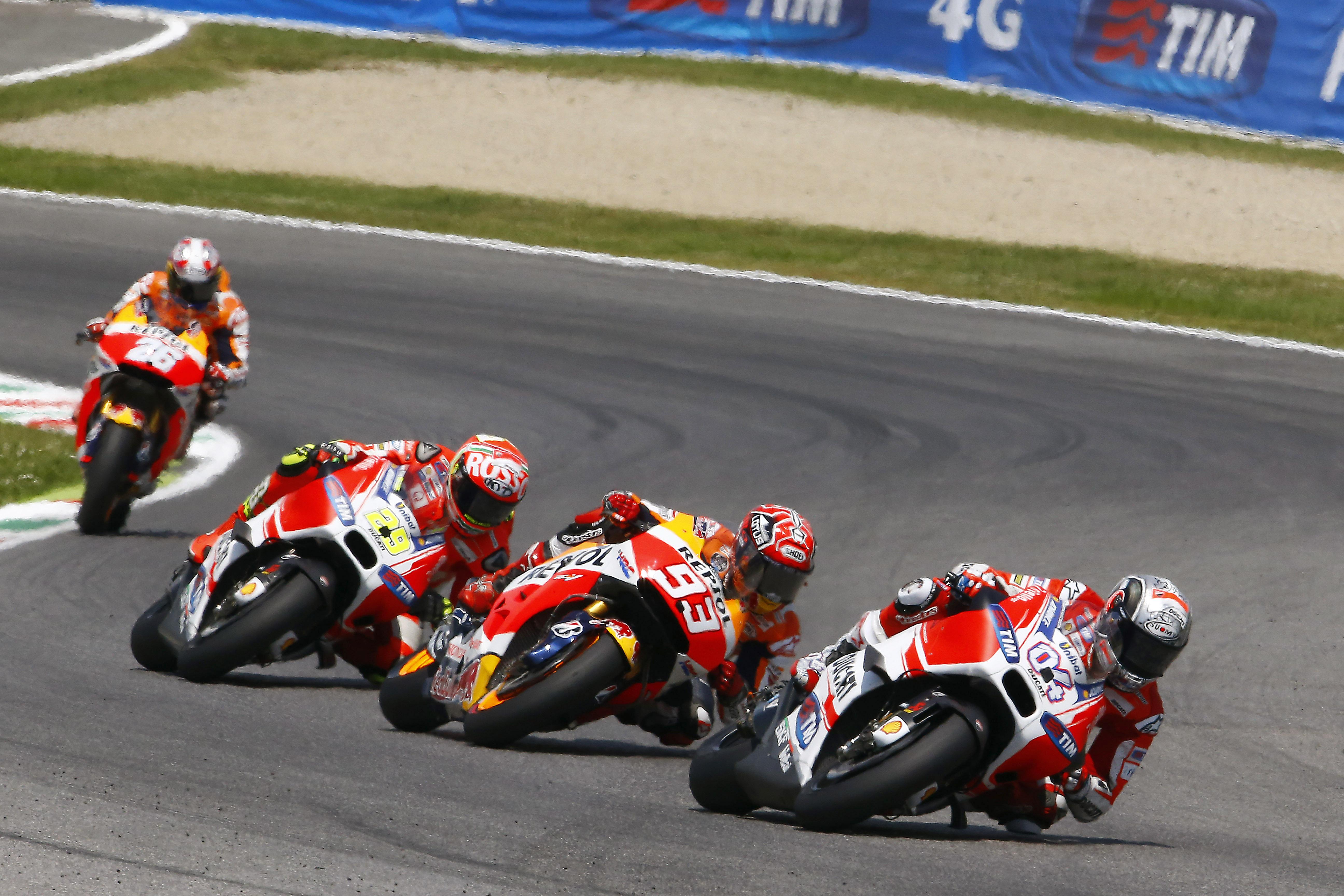 MotoGP 2015: Mugello race results