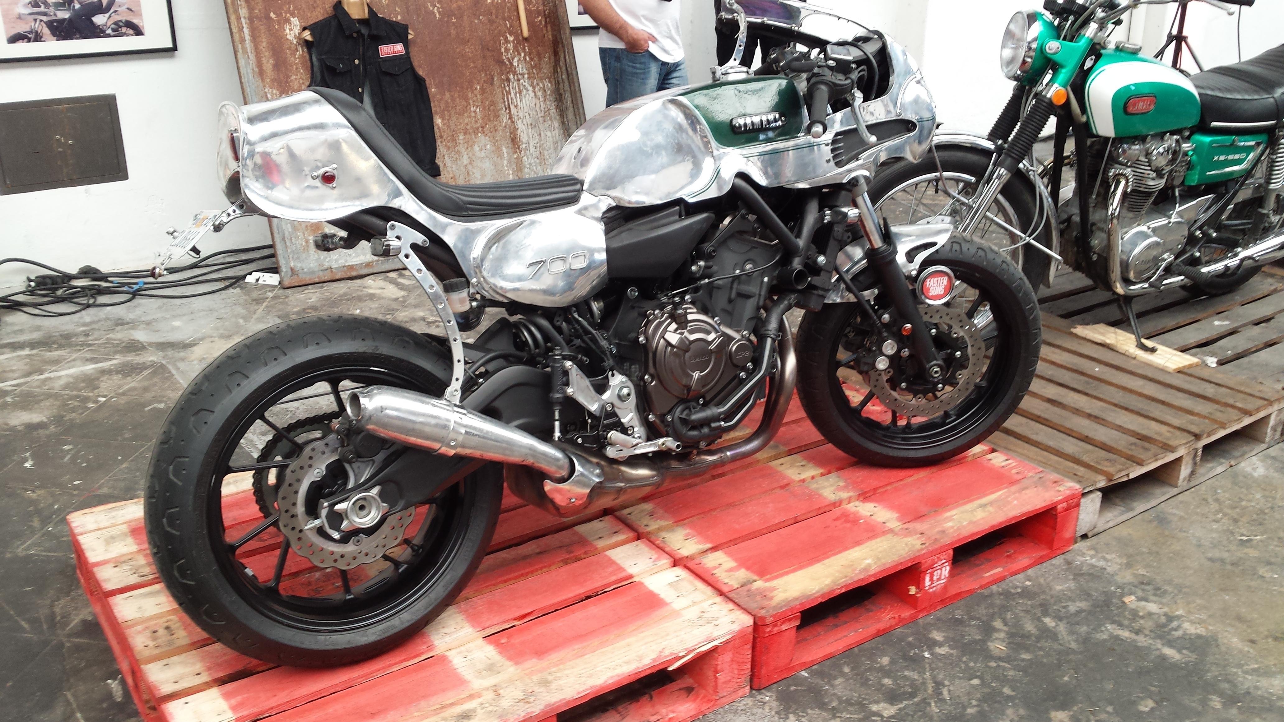 Yamaha's retro MT-07 debuts