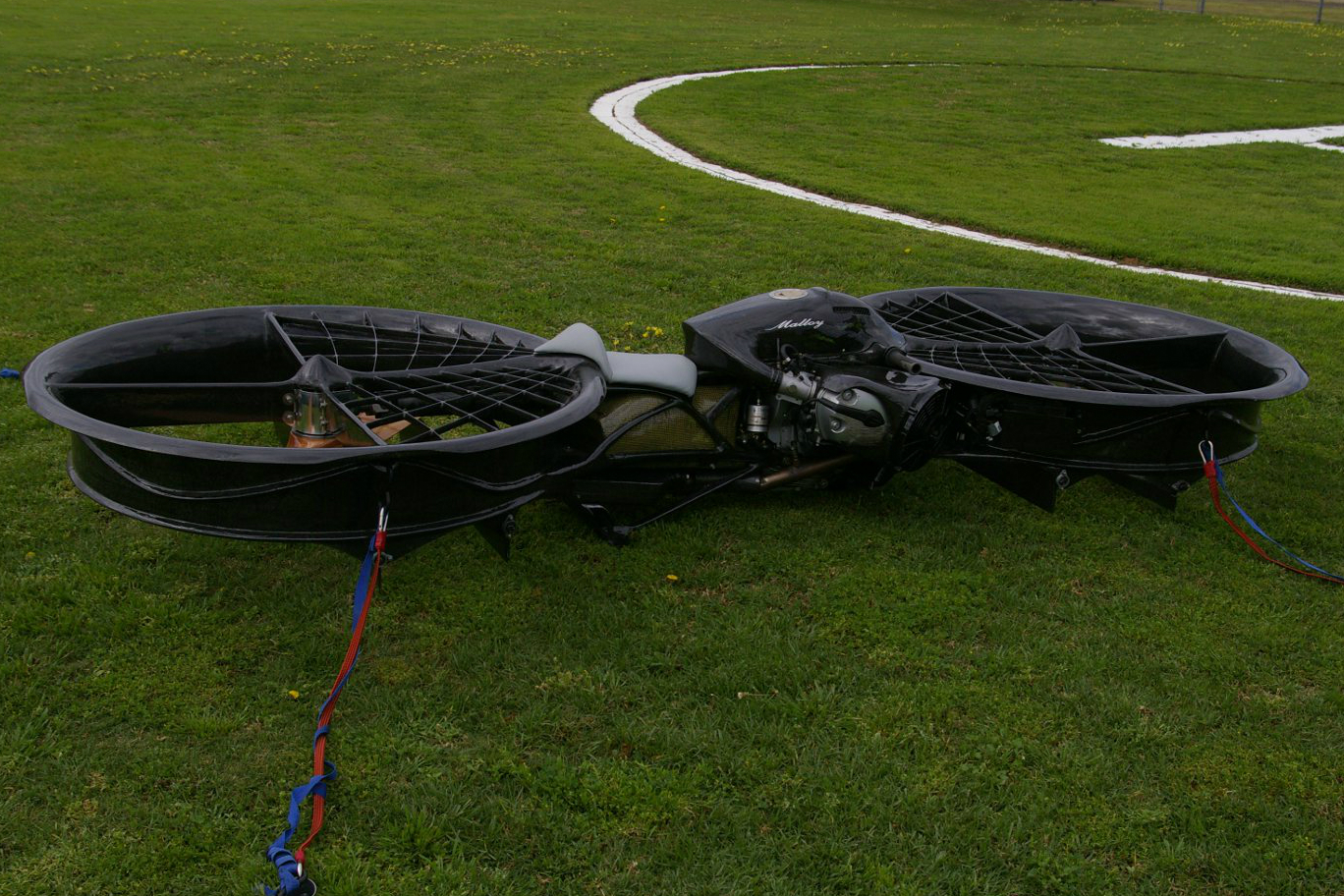 bmw-powered hoverbike has lift off   visordown
