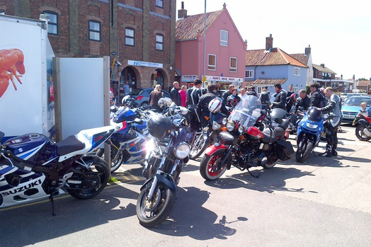 Bikes banned from seaside harbour parking