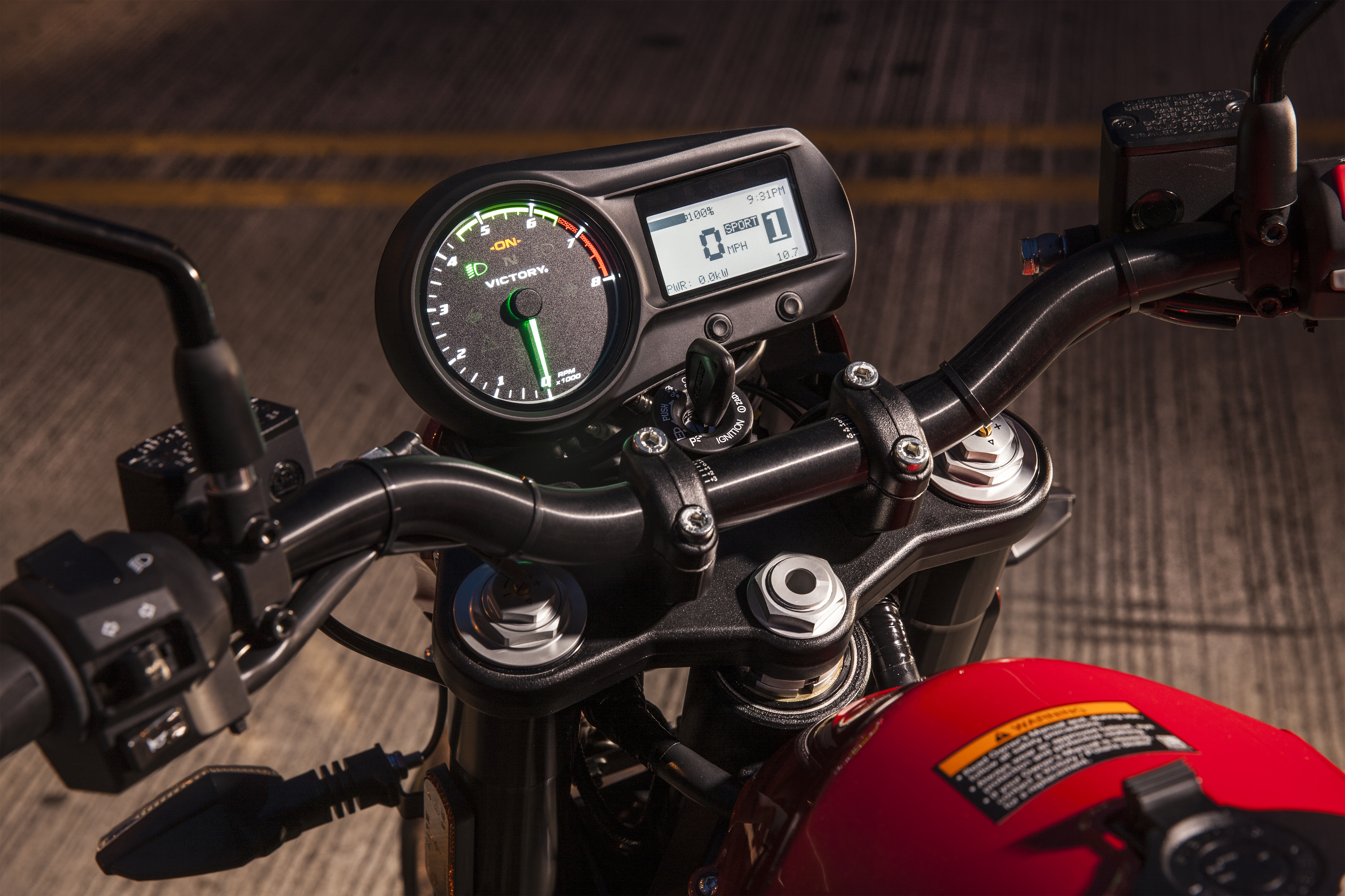 Victory's first all-electric production bike
