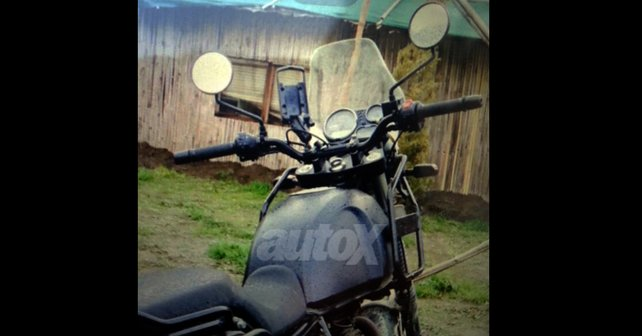 Royal Enfield Himalayan spied