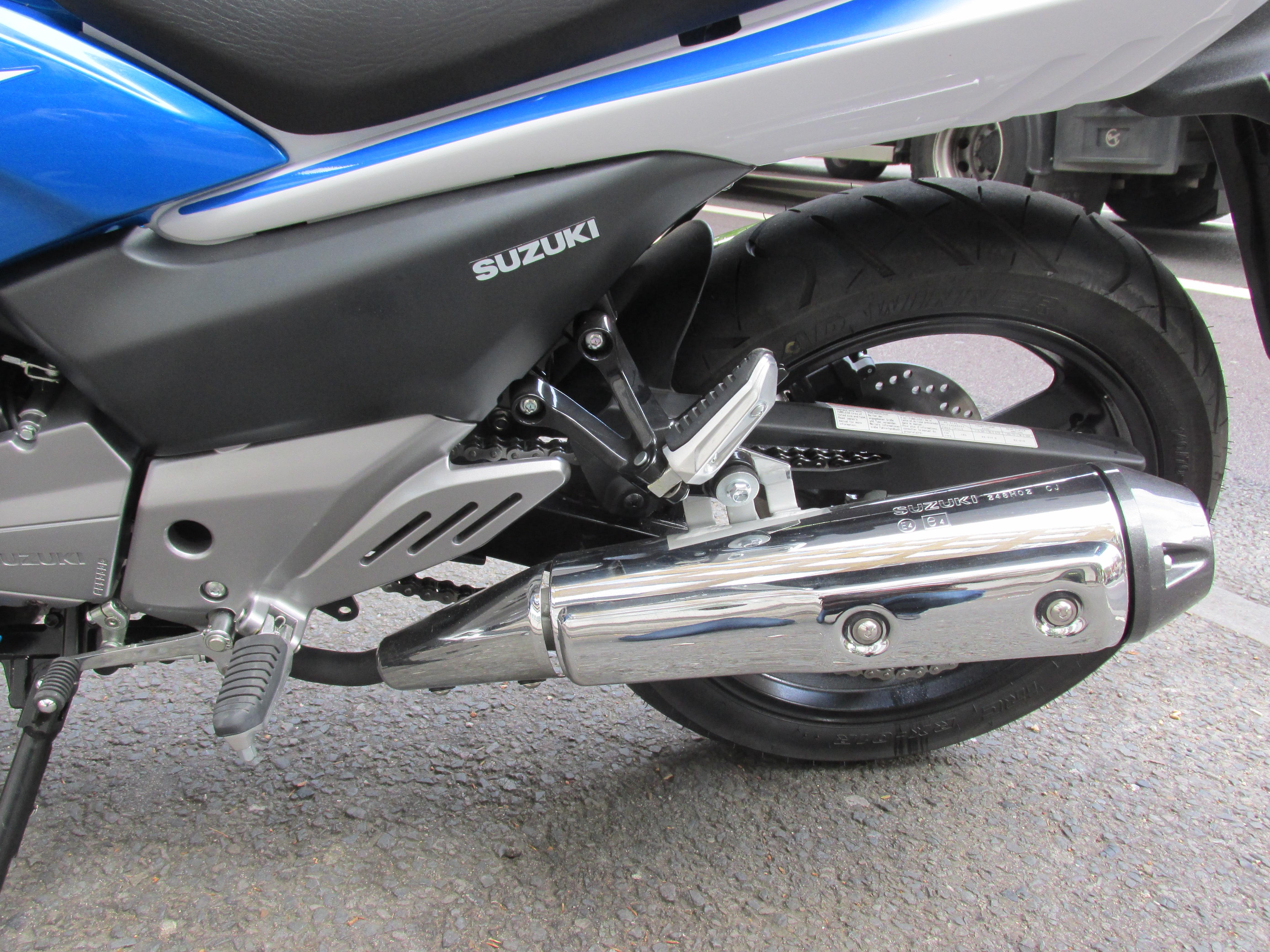 First ride: Suzuki Inazuma 250F