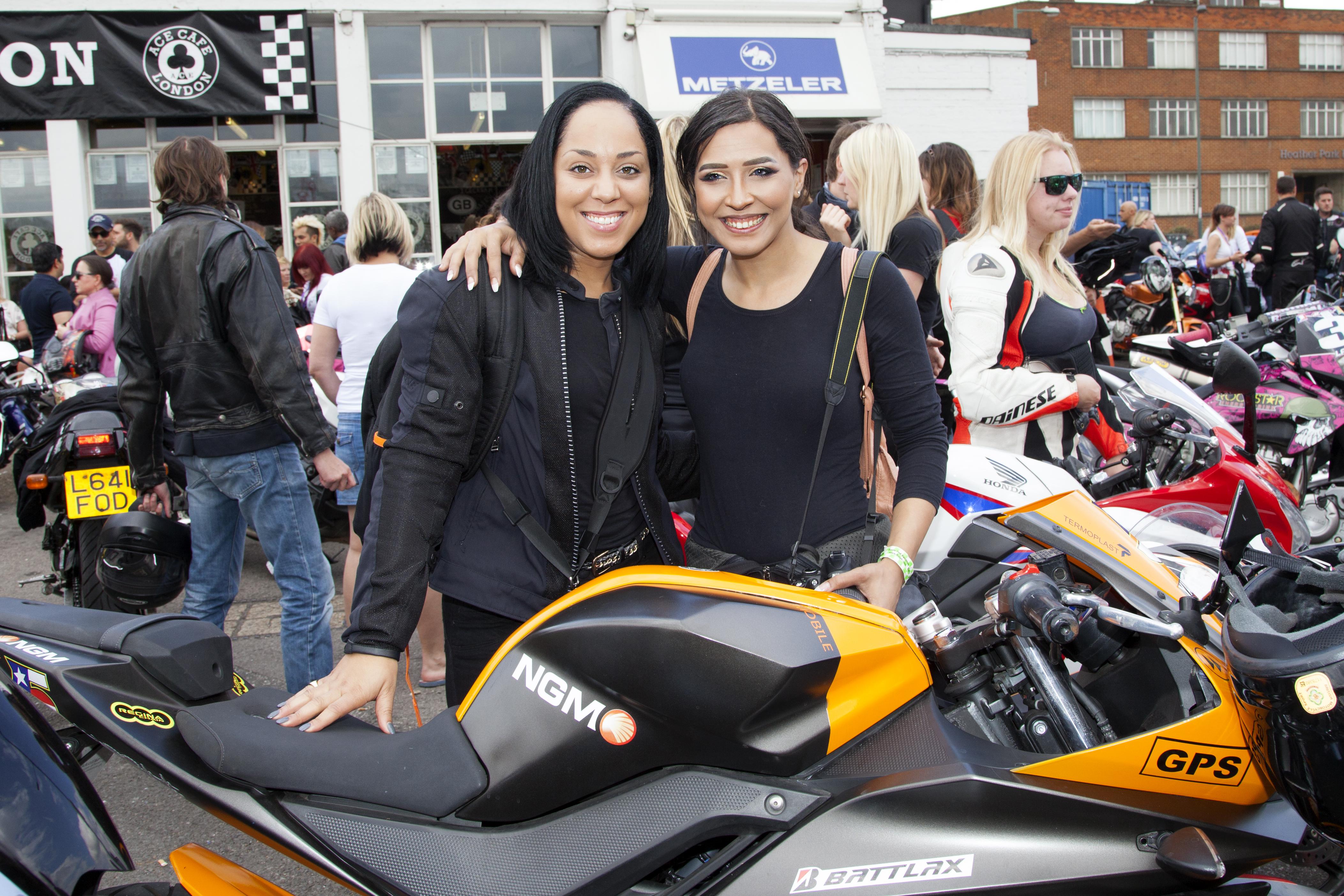 618 women set new bike meet record