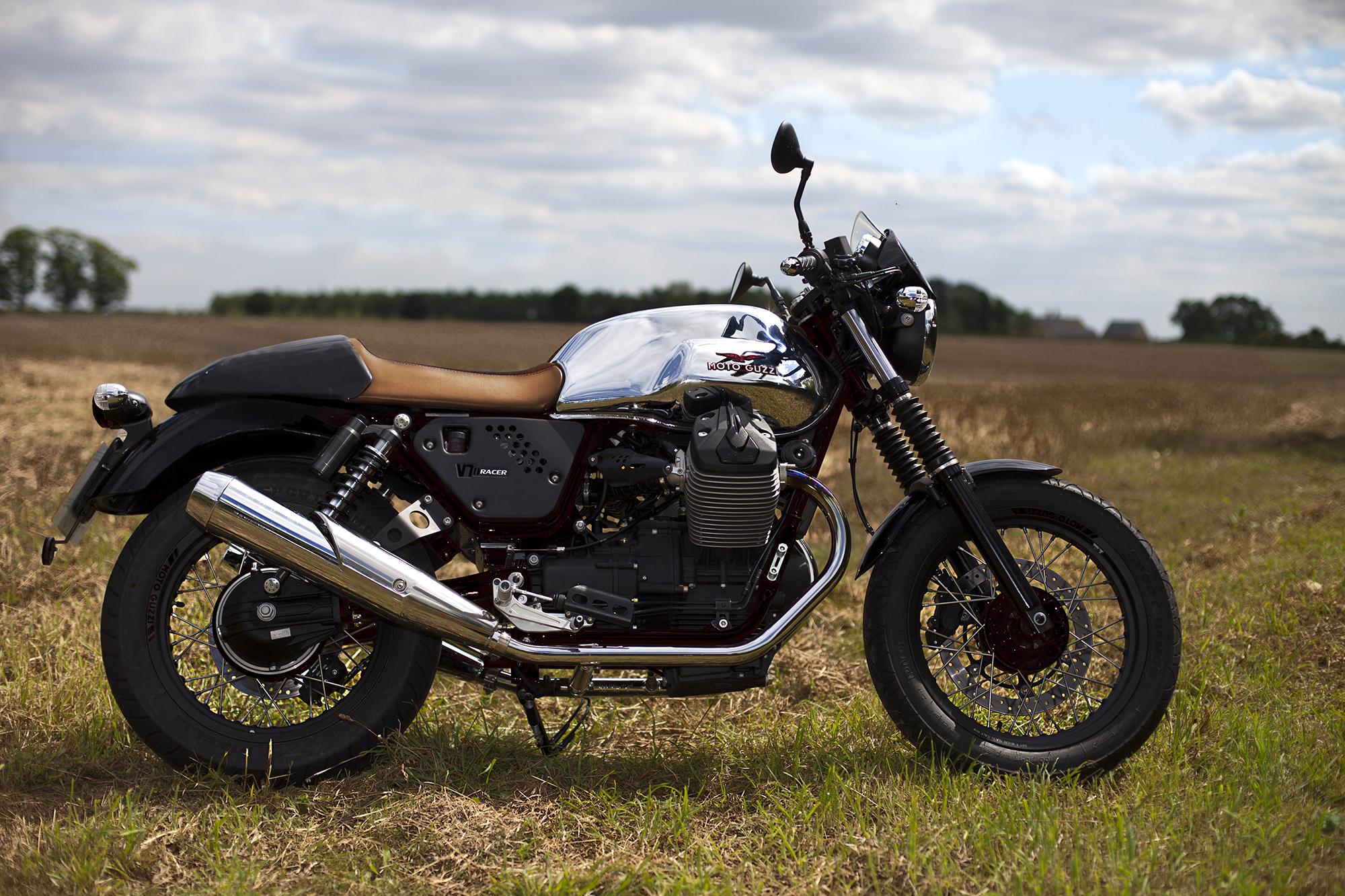 First ride: Moto Guzzi V7 II Racer | Visordown