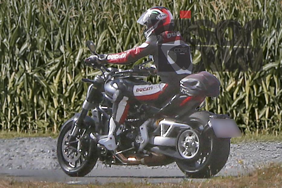 New Ducati Diavel cruiser spotted