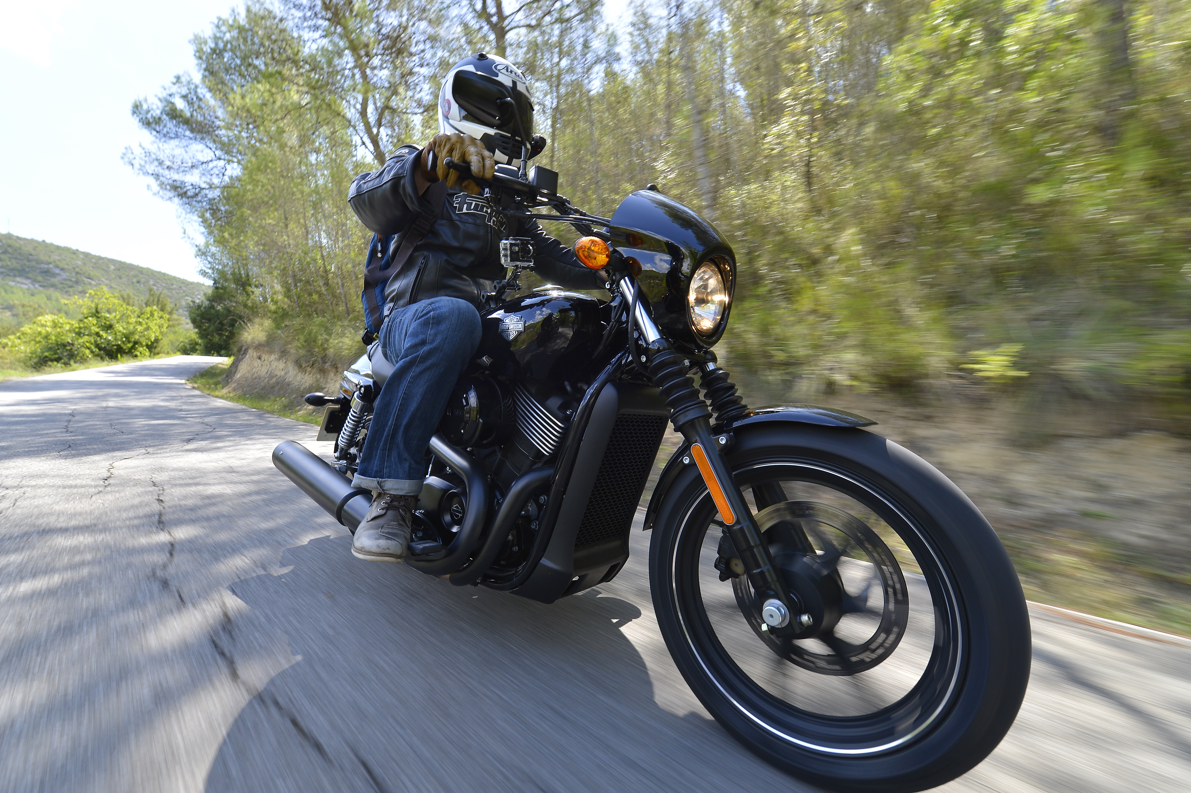 how to ride a harley davidson