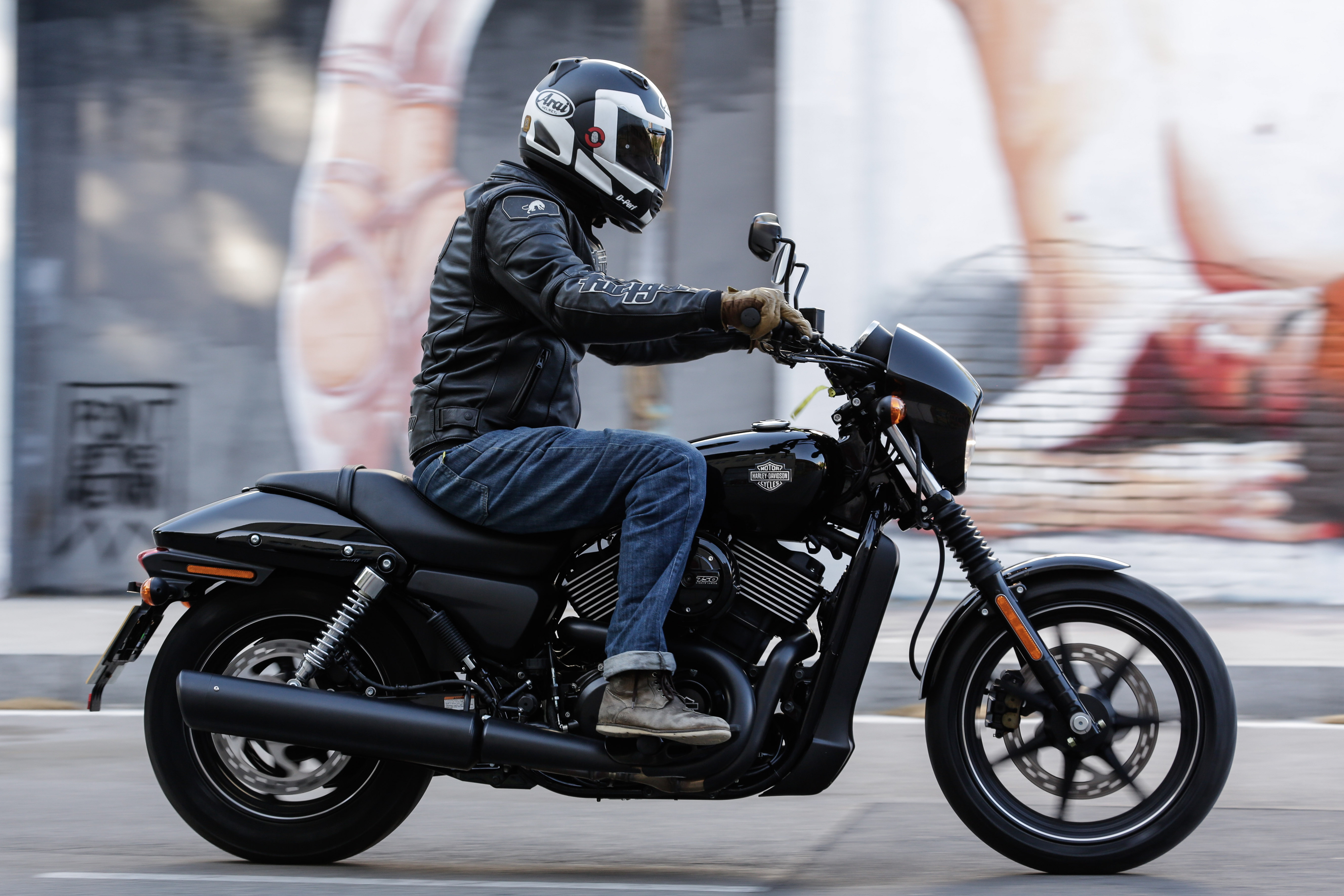 First Ride Harley Davidson Street 750 Review on harley dyna glide specifications