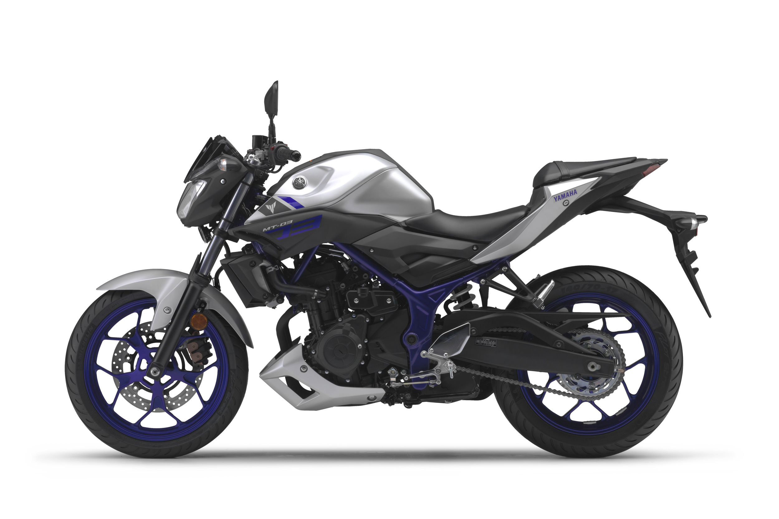 Yamaha MT-03 confirmed