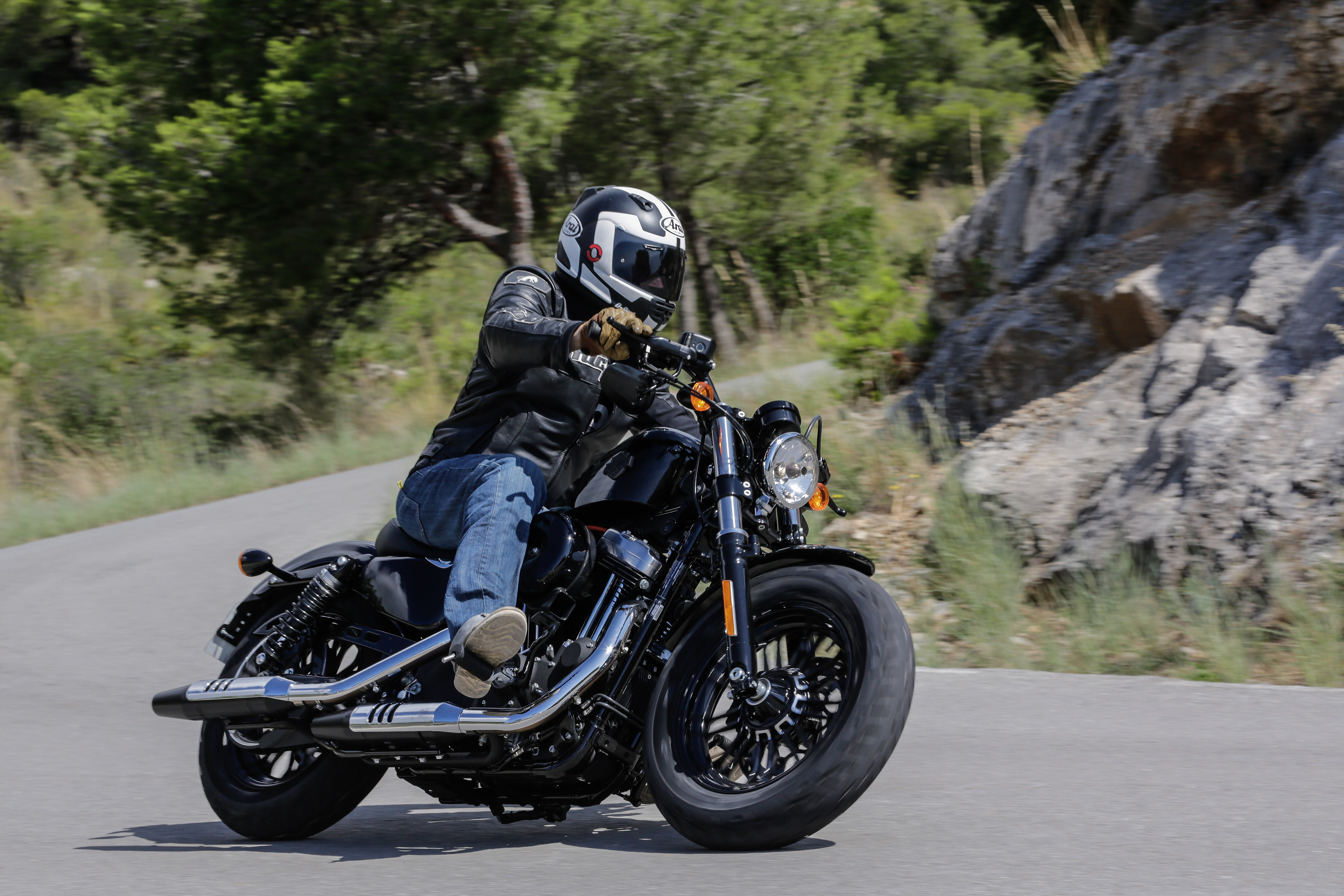 First ride: Harley-Davidson Sportster Fo... | Visordown