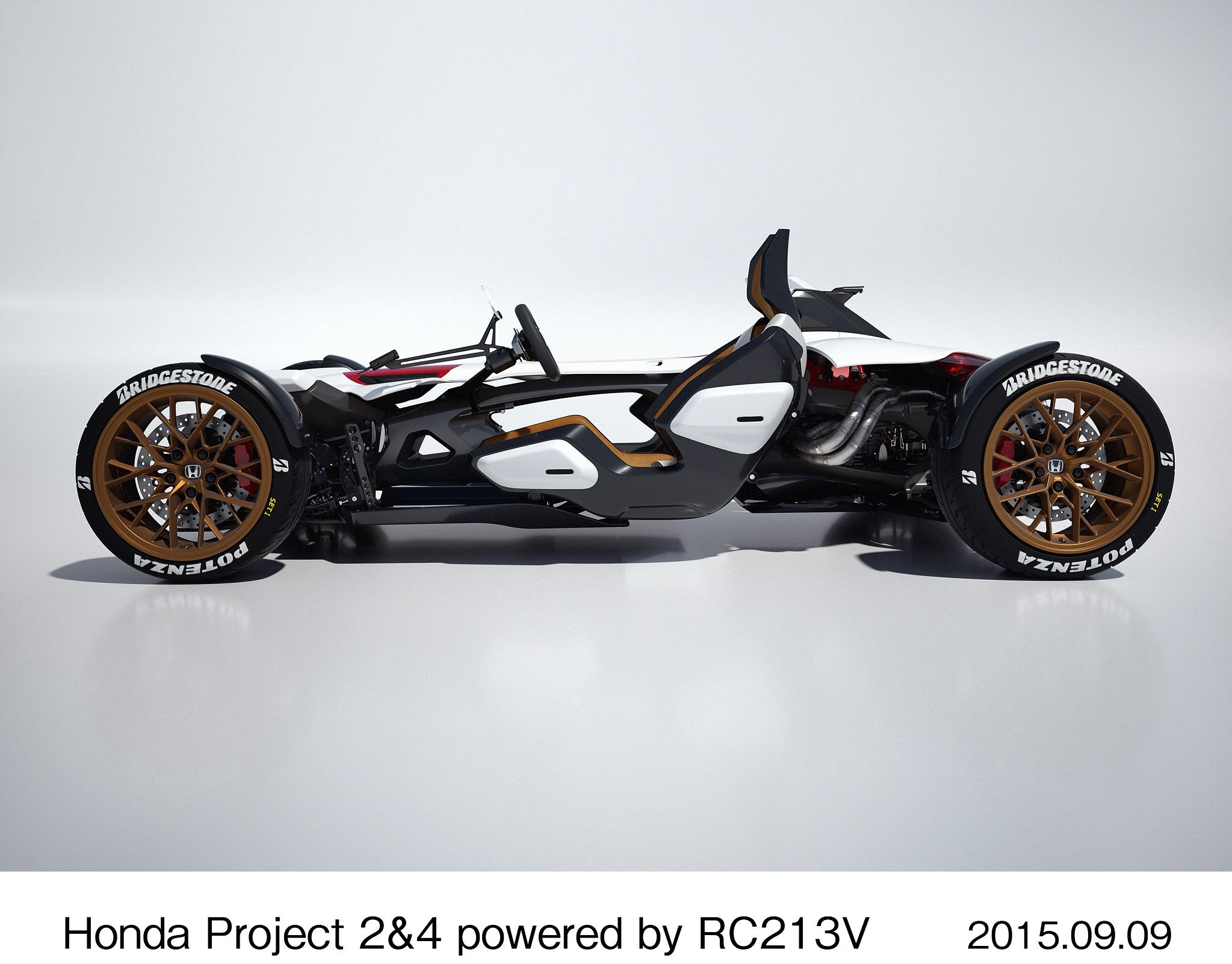 Honda's RCV-powered car revealed
