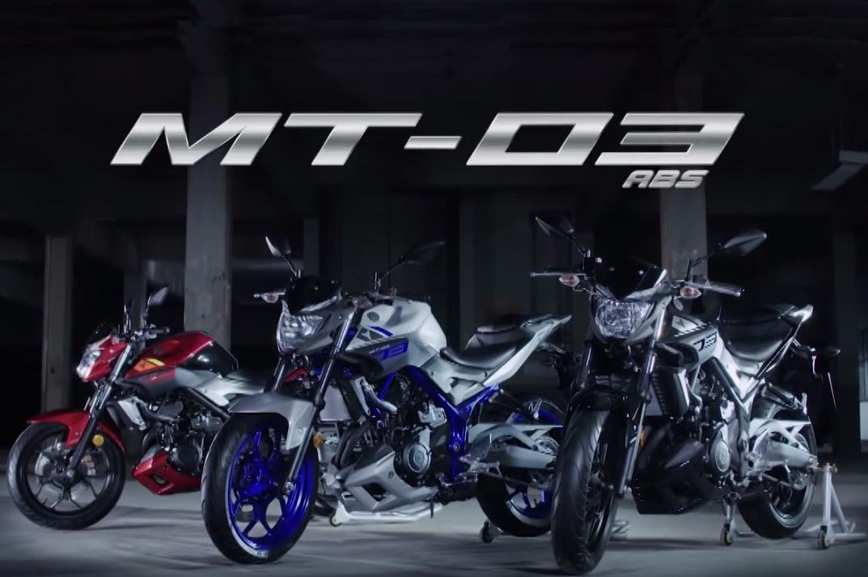 Yamaha MT-03 launch video