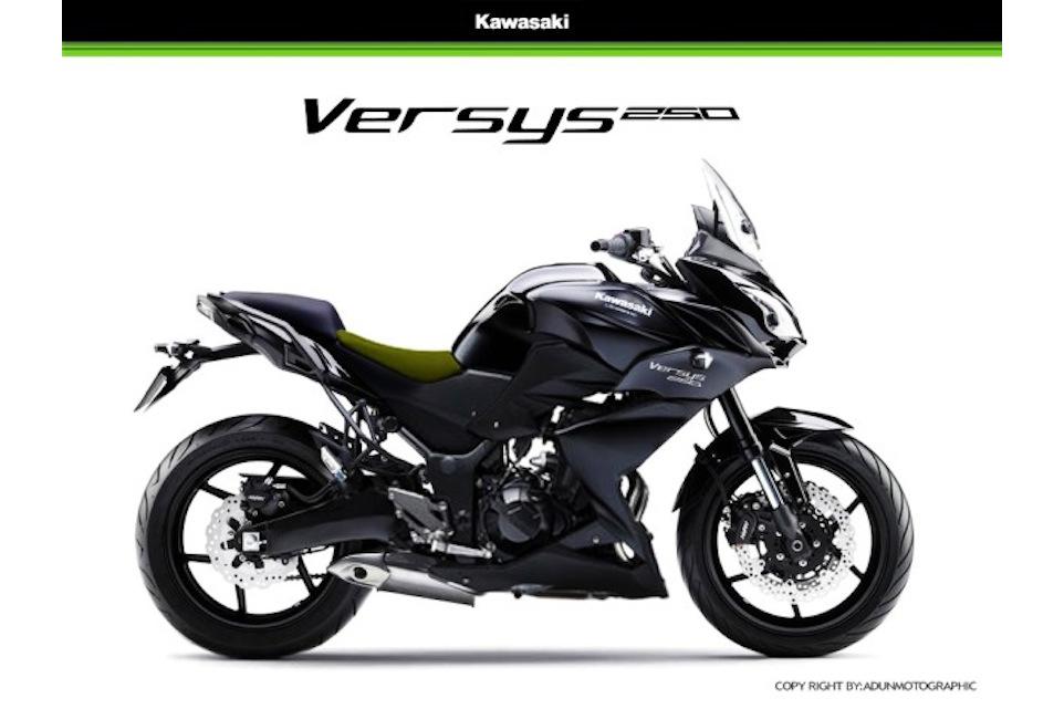 How Kawasaki's Versys 250 might look
