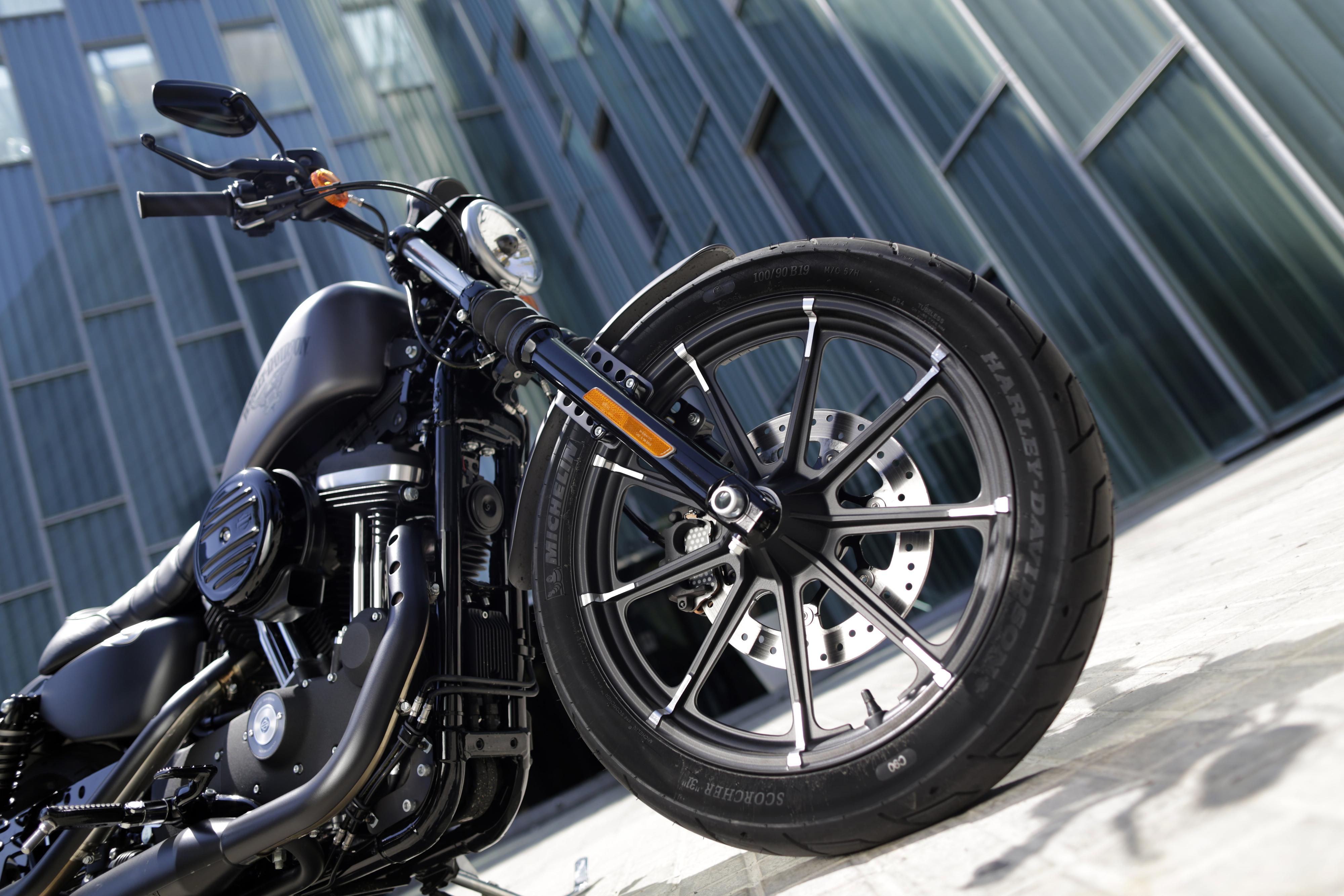First Ride Harley Davidson Sportster Ir Visordown