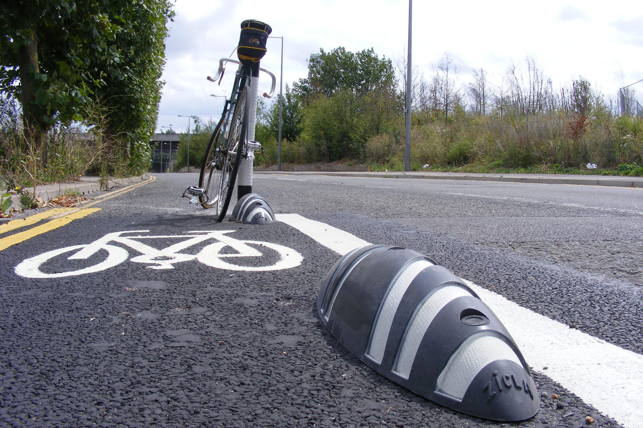 Cycle lane humps could be fatal for motorcyclists says MAG