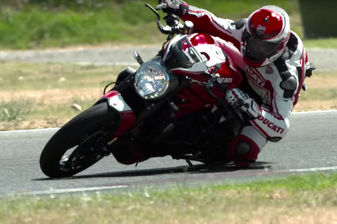Ducati Monster 1200 R in action