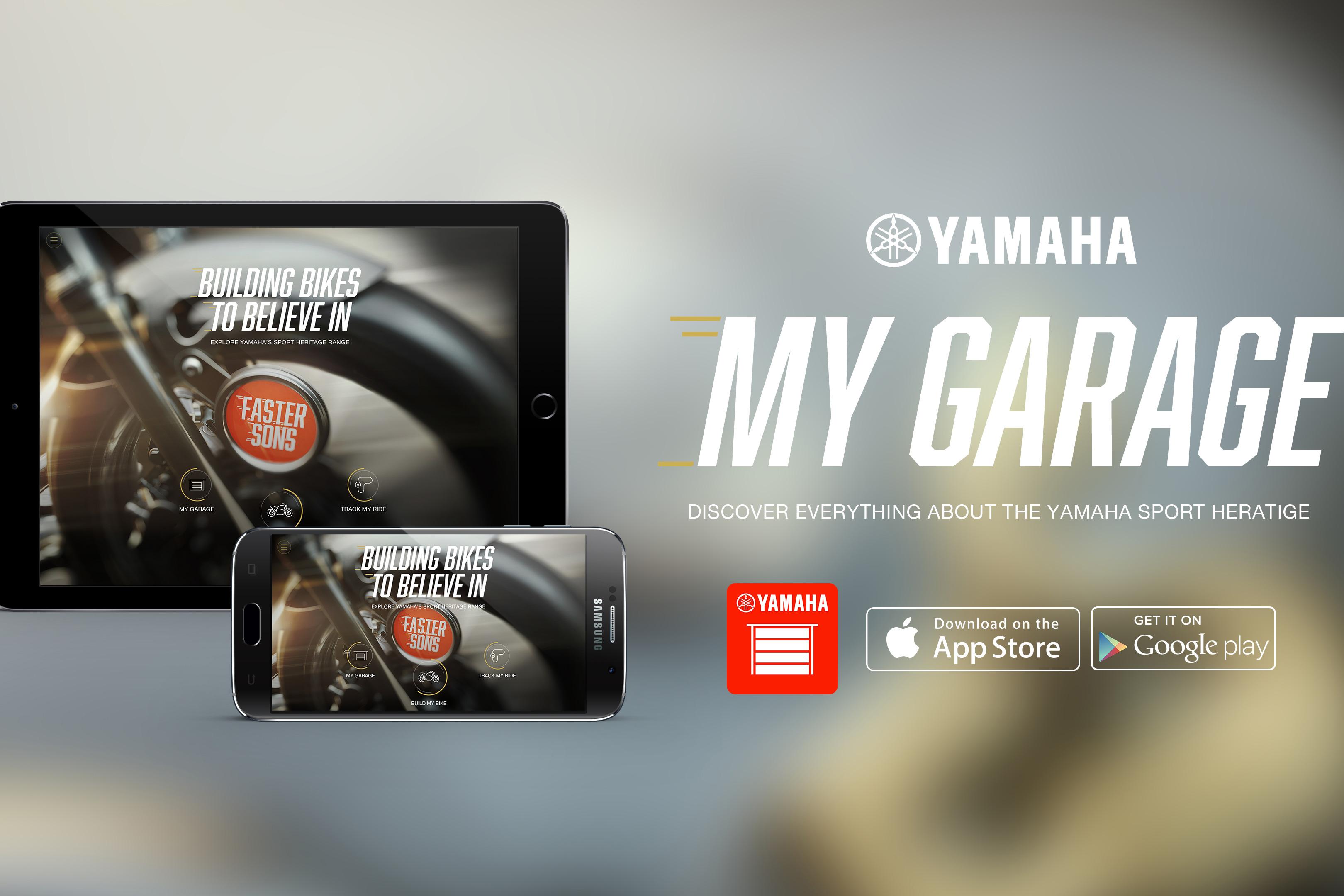 Customise a Yamaha on your phone