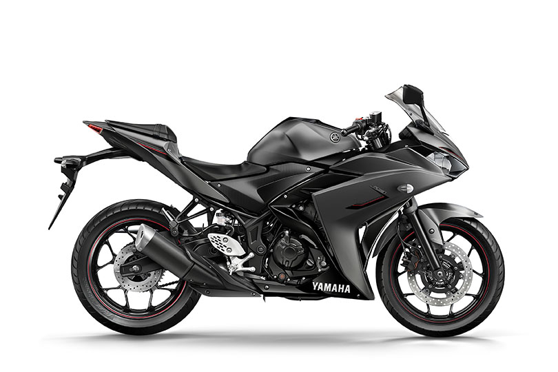 Yamaha unveils new colours for the YZF-R125, R3 and R6