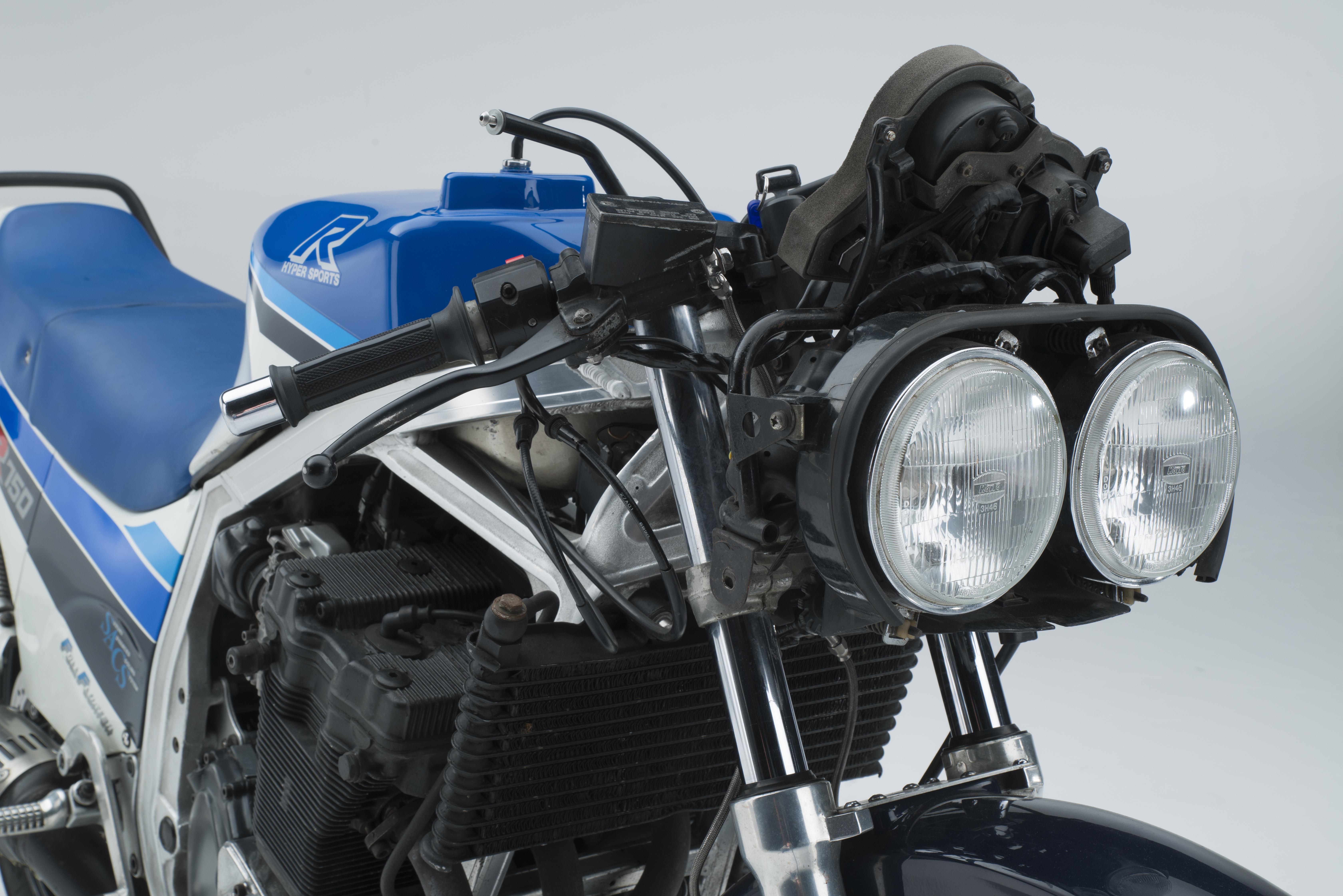 Suzuki to restore original GSX-R750 at NEC bike show