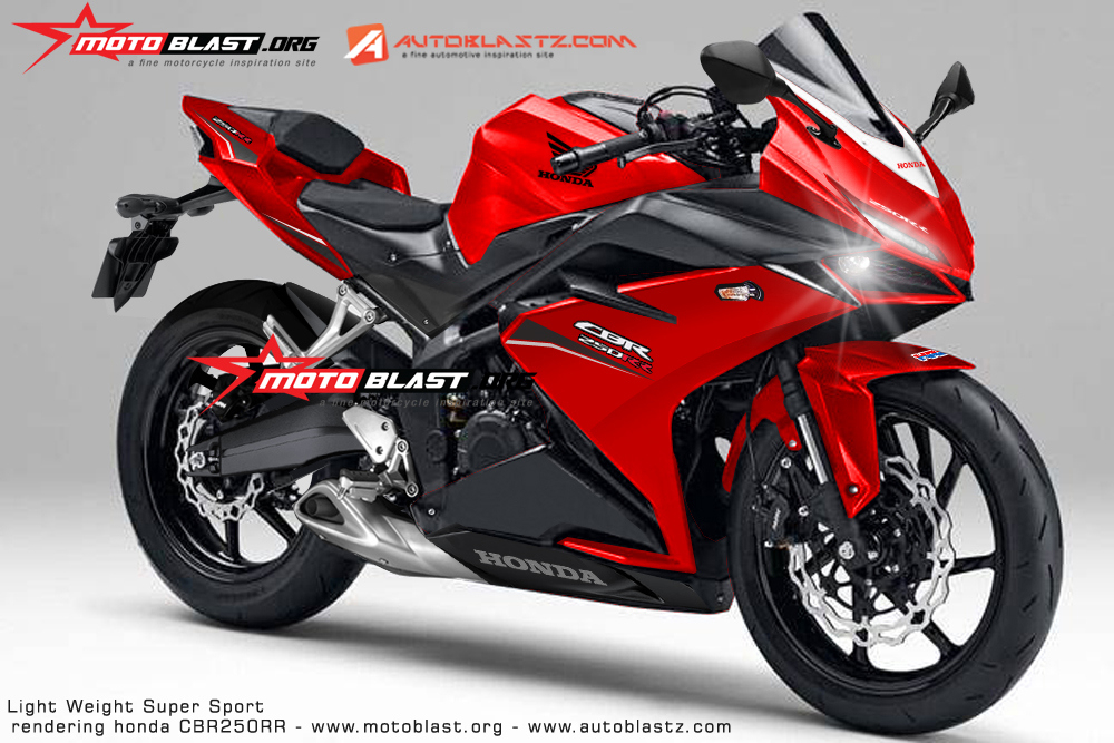 What Honda's CBR250RR might look like