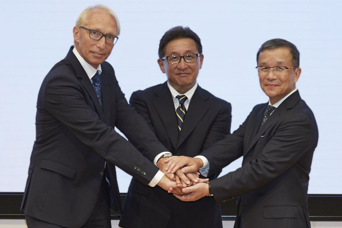 Honda, Yamaha and BMW working together on rider safety technology
