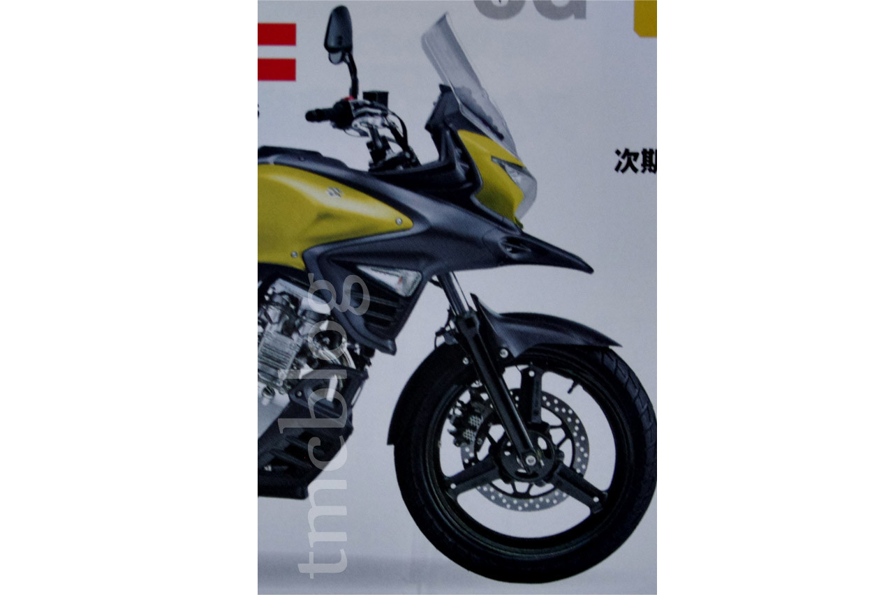 Is this what the Suzuki V-Strom 250 might look like?