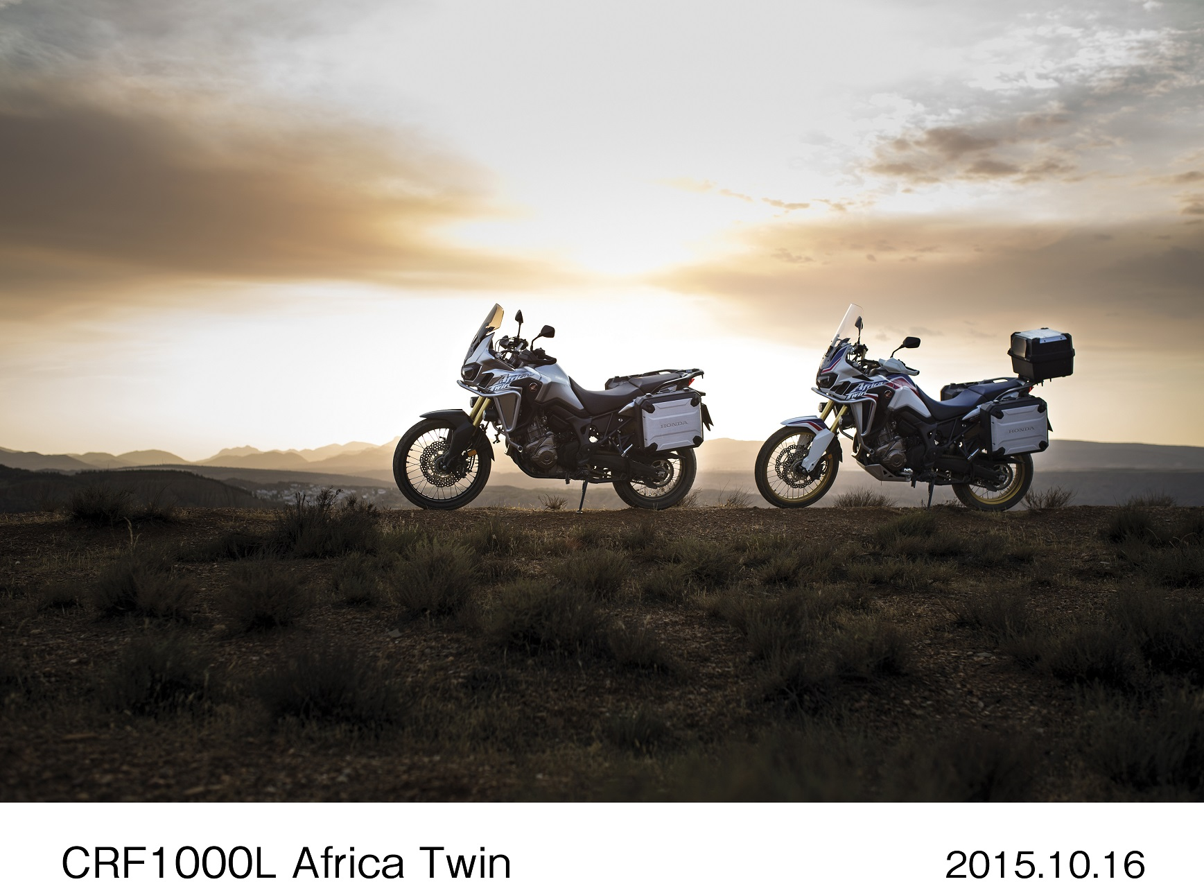 Honda Africa Twin debuts. Again.