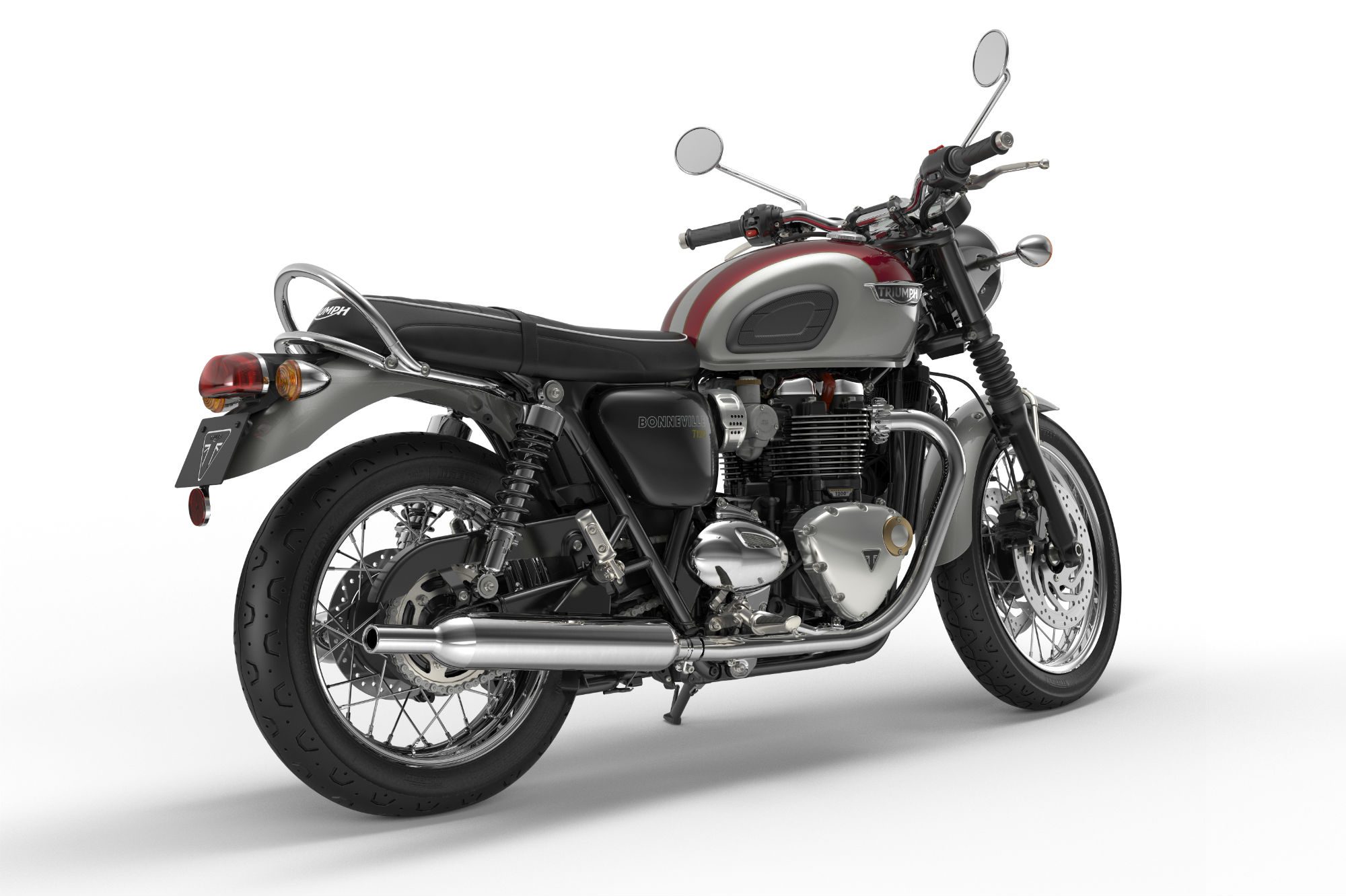 new triumph bonneville family revealed visordown. Black Bedroom Furniture Sets. Home Design Ideas