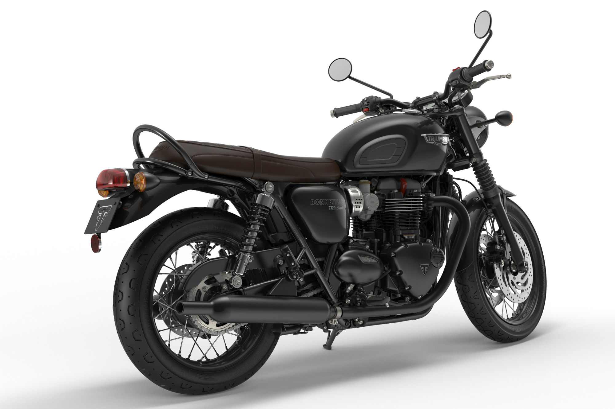 Triumph Bonneville T120 Black Idea Di Immagine Del Motociclo