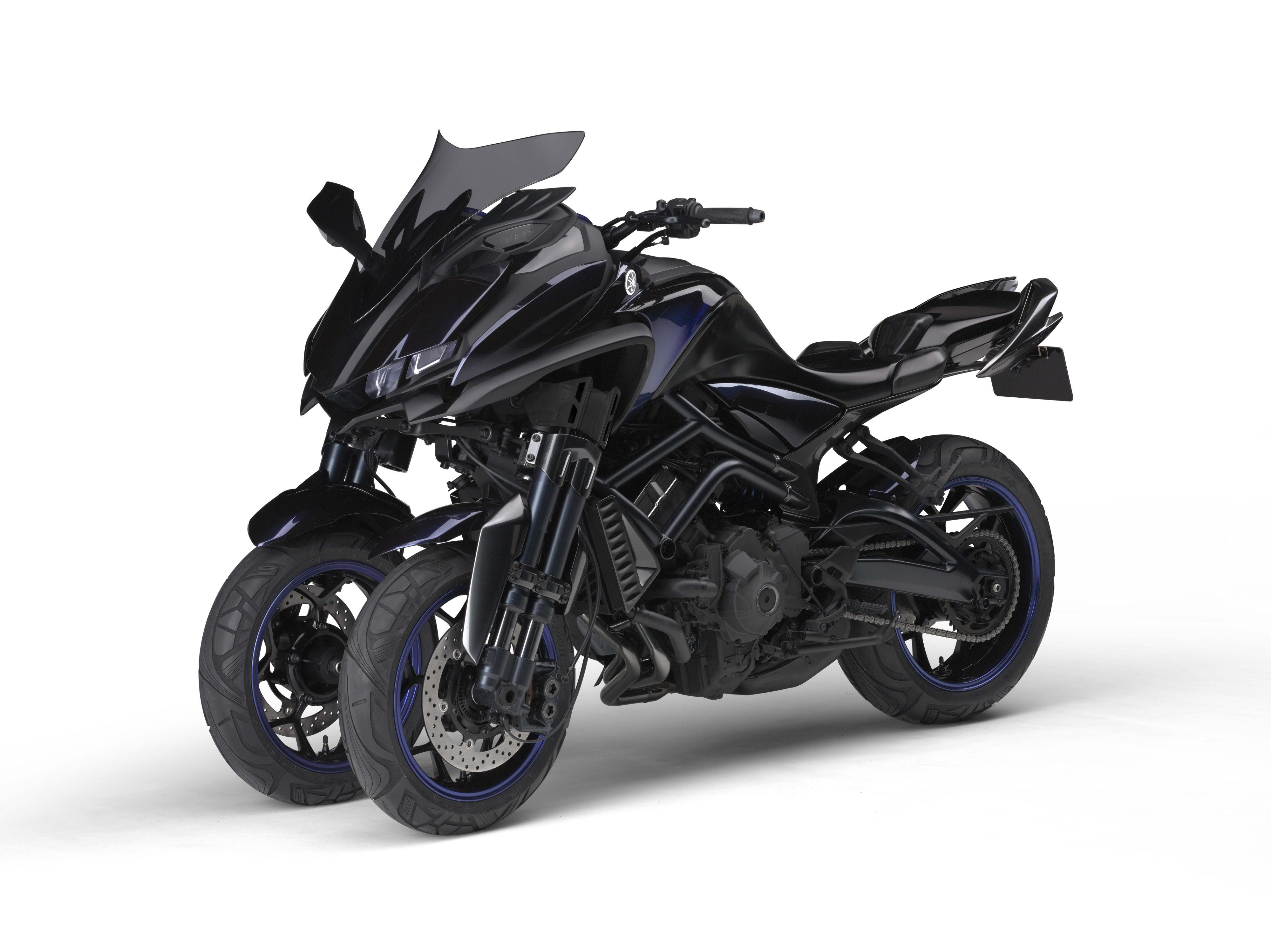 Yamaha's three-wheeled MT-09