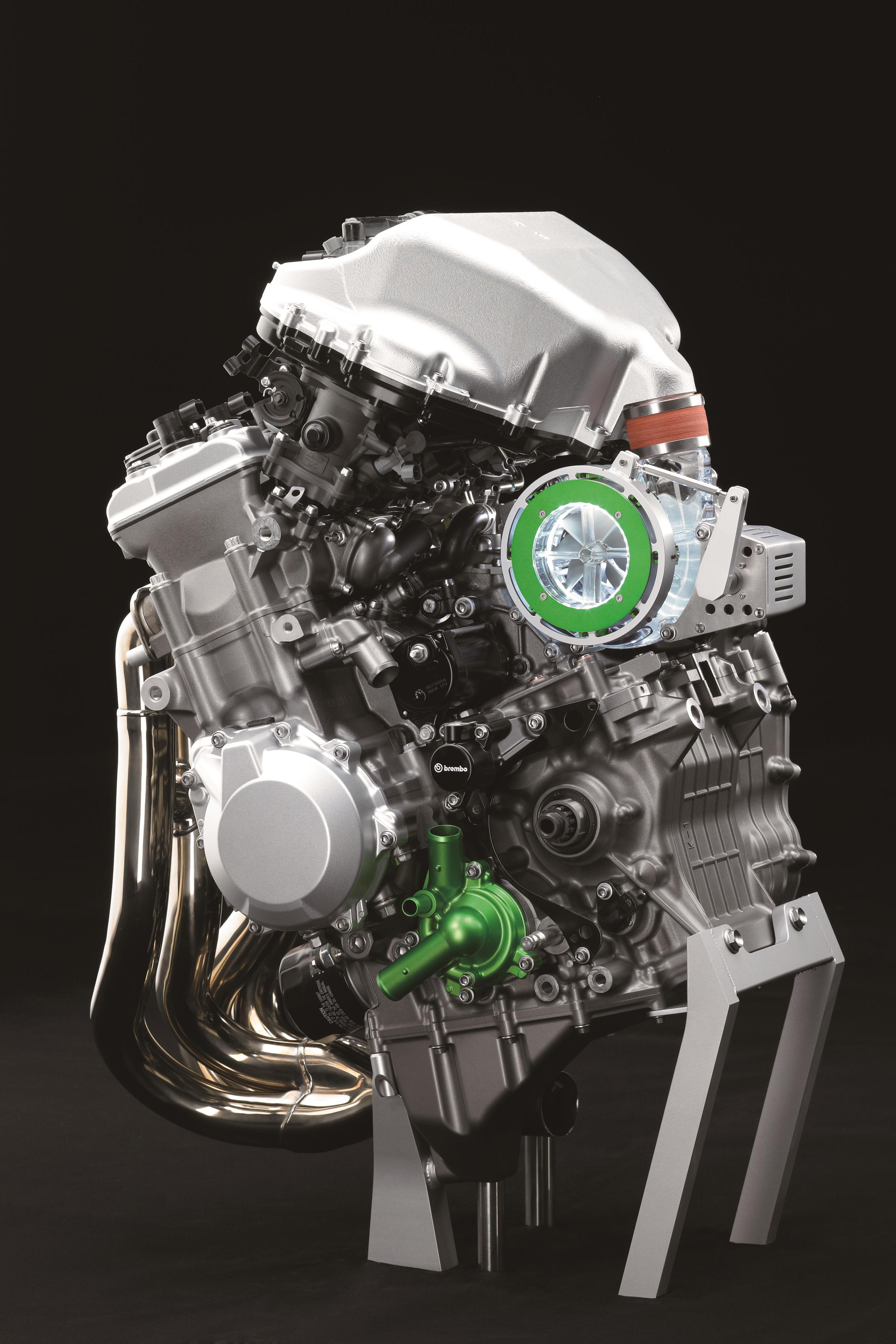 Kawasaki's new super-charged concept