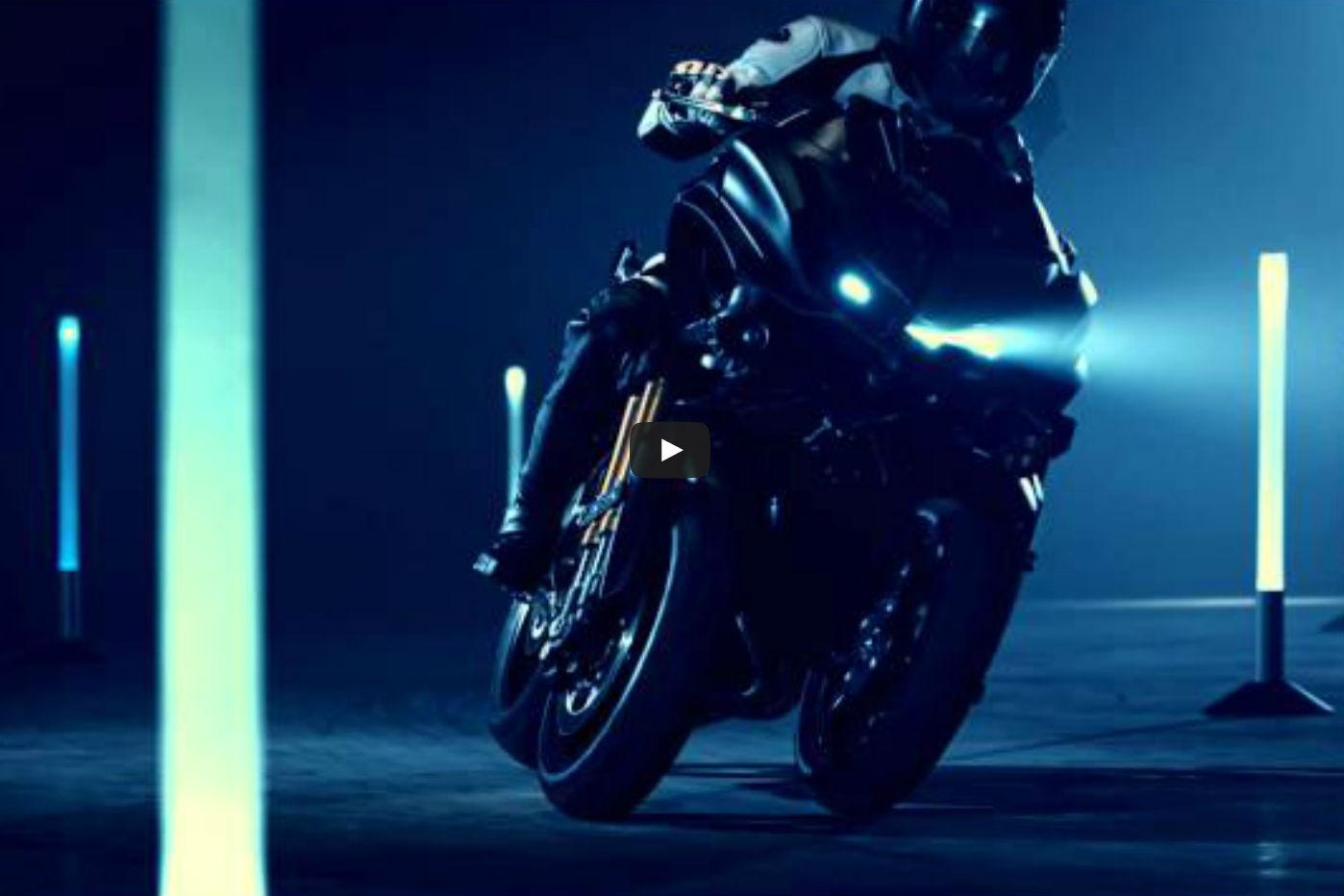 Video: Yamaha's MT-09 three-wheeler in action
