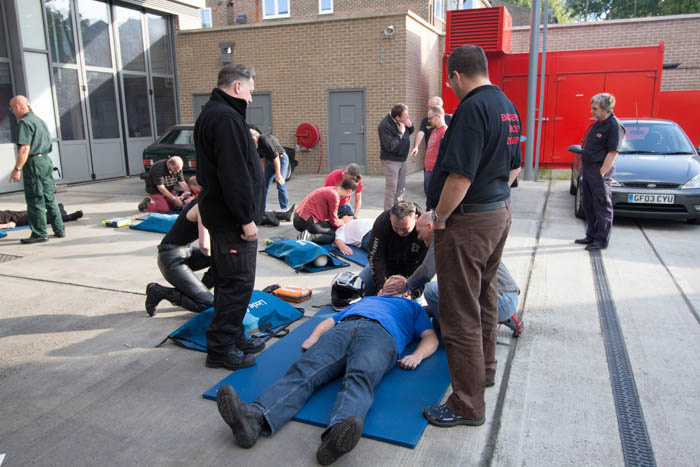 London Fire Brigade launches free first aid training scheme for riders