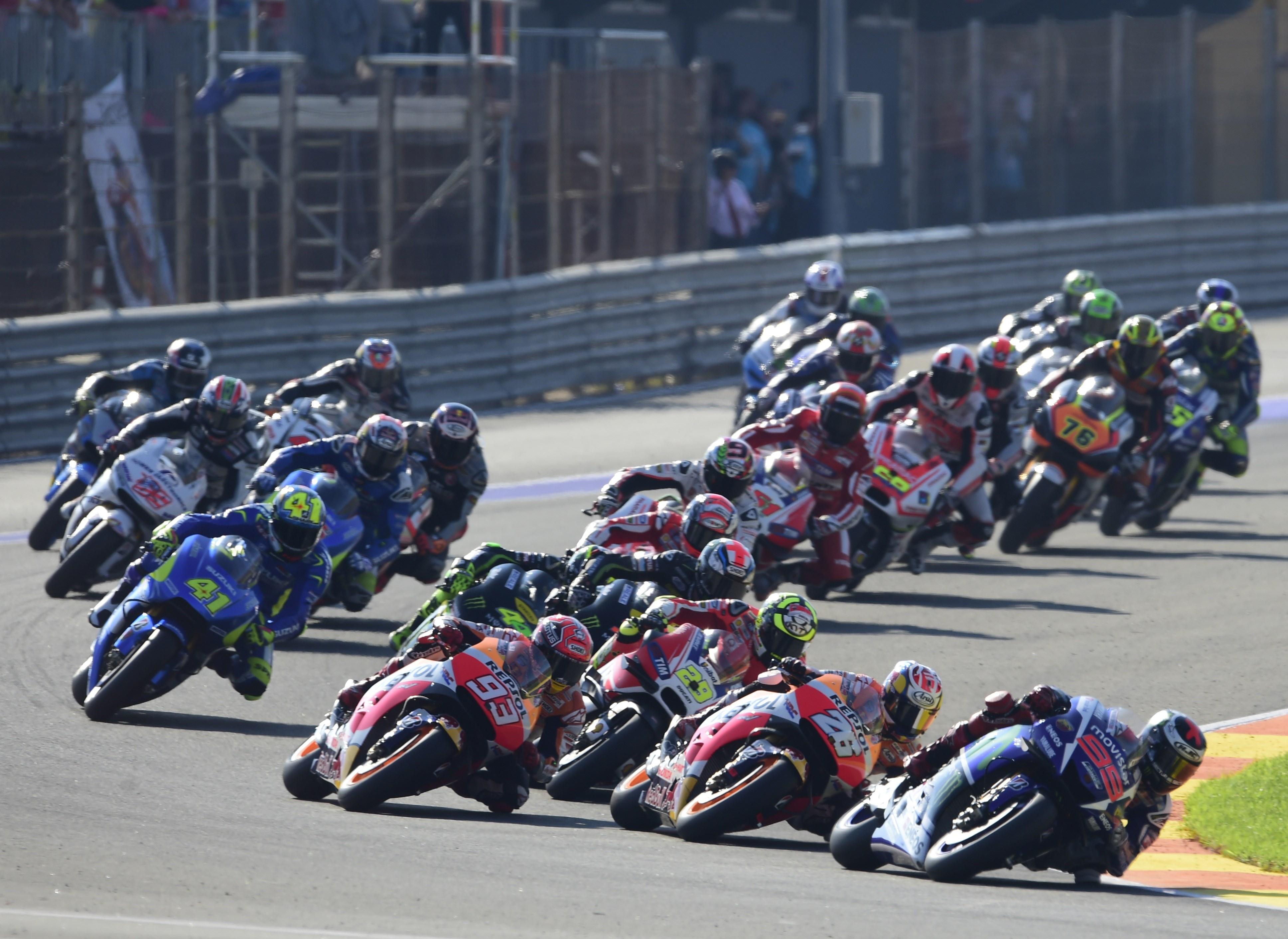 MotoGP 2015: Valencia race results