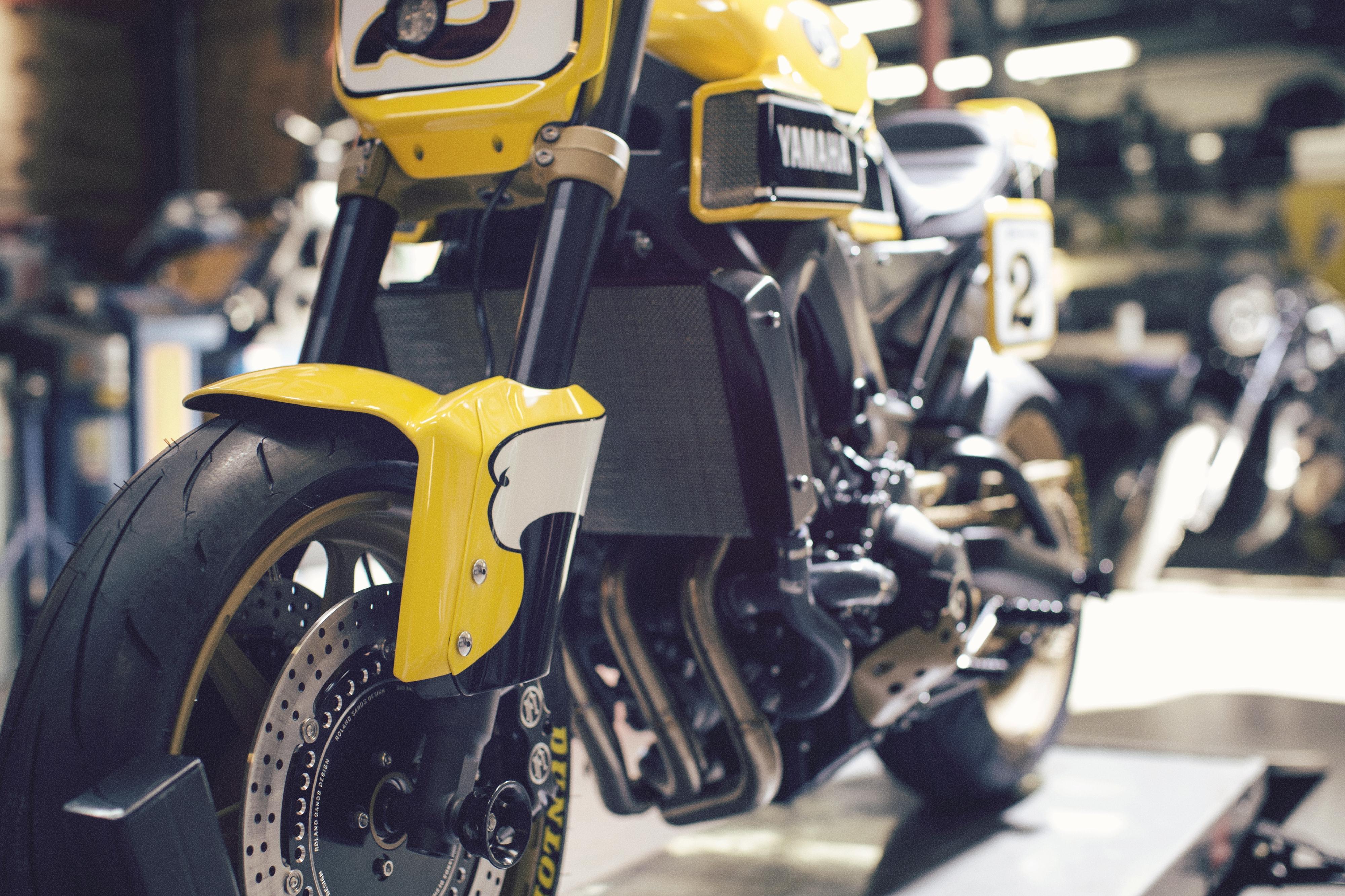 Roland Sands Yamaha MT-09 properly revealed