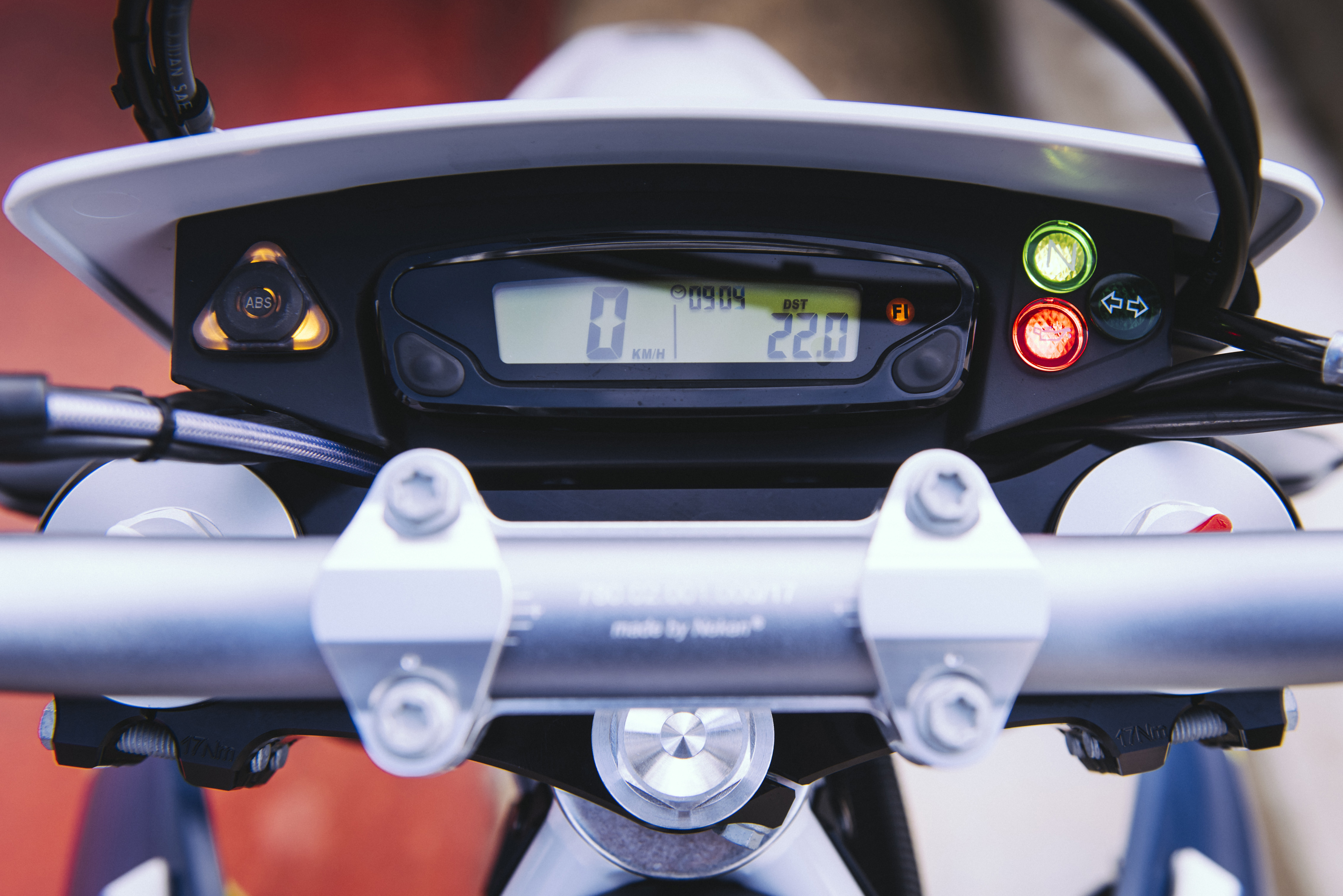 First Ride Husqvarna 701 Supermoto Review Visordown
