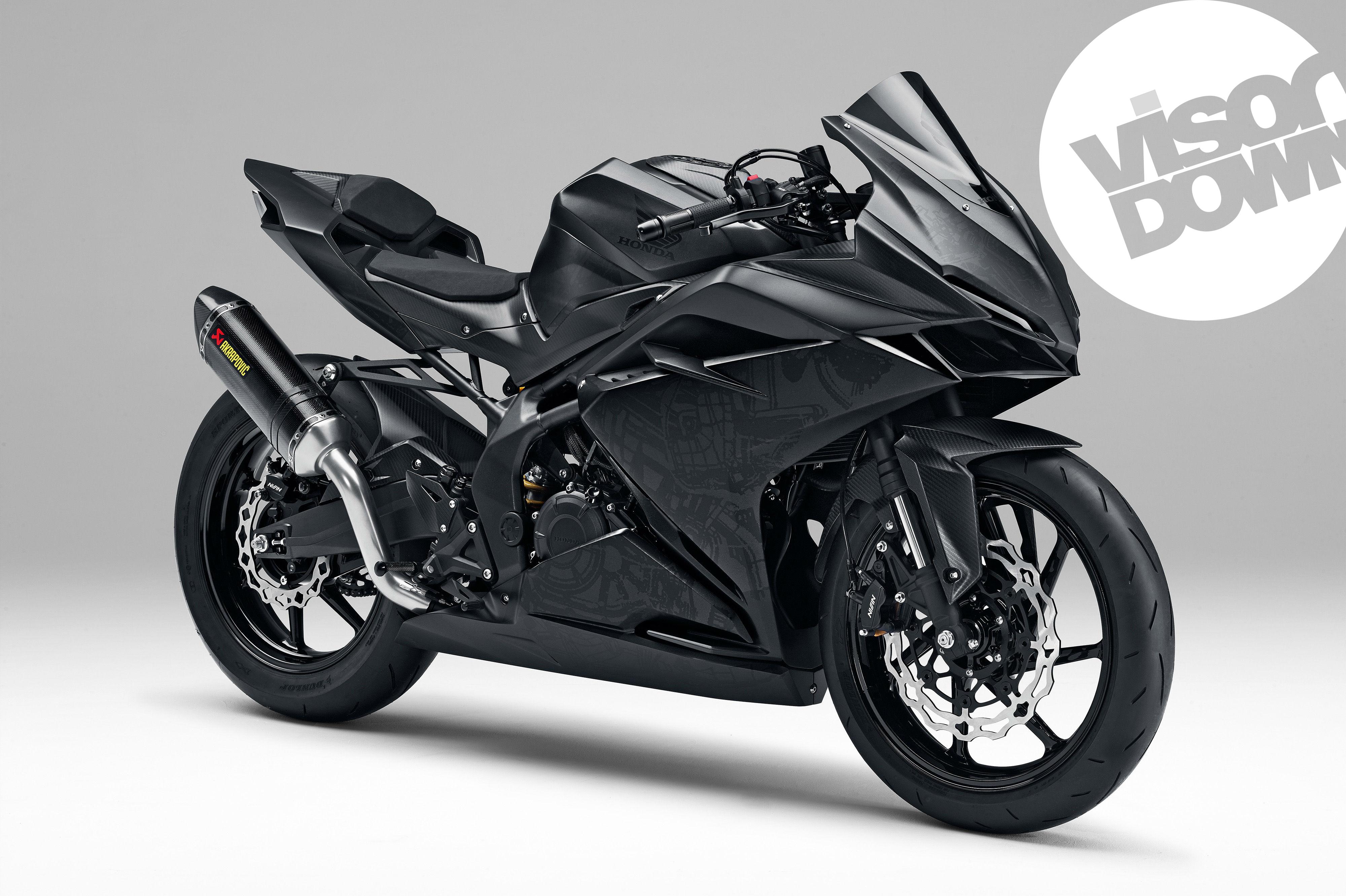 Here's a closer look round Honda's CBR250RR concept bike