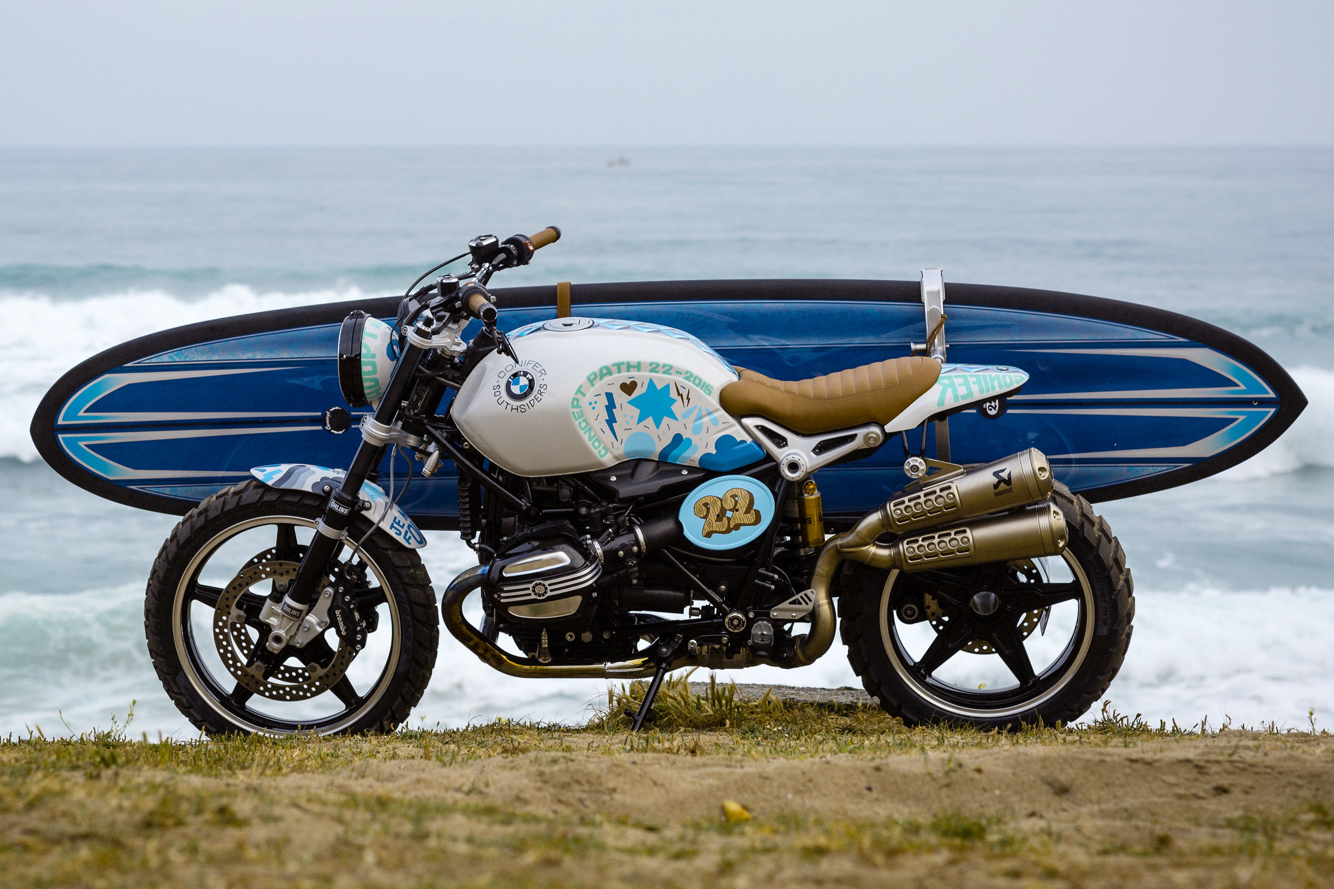 The R nineT Scrambler will be part of BMW's 2016 line-up