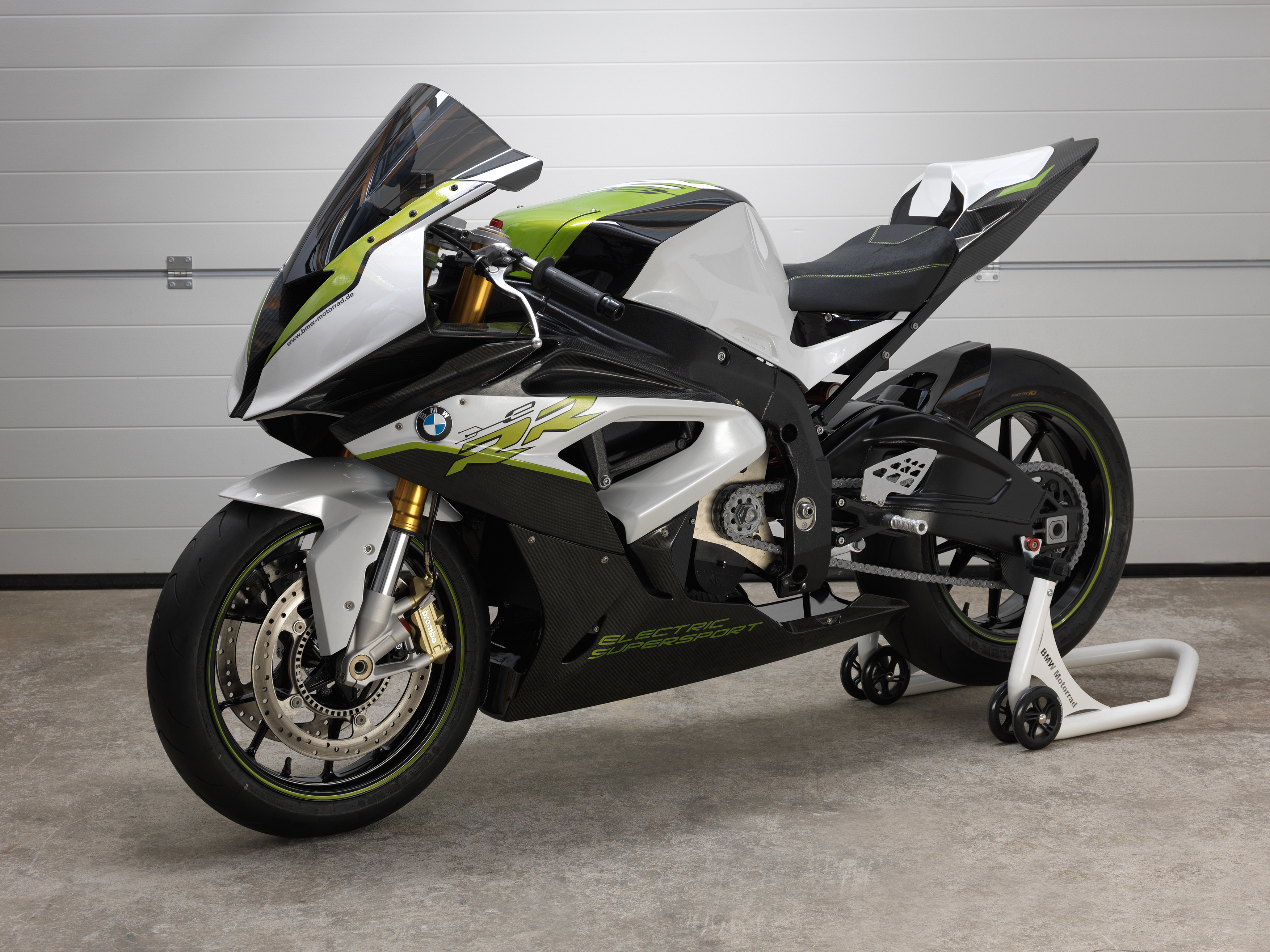 bmw s electric s1000rr revealed visordown